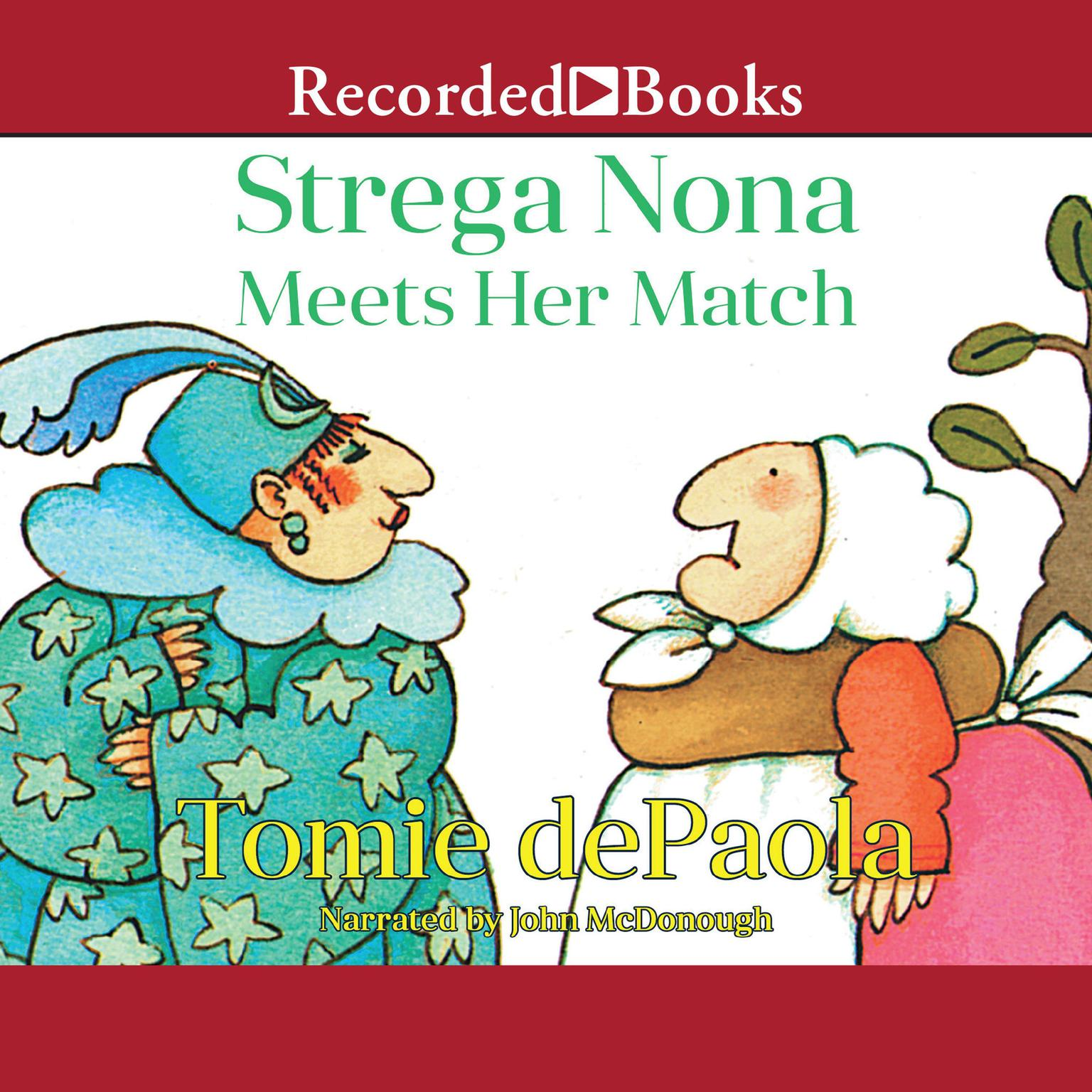 Printable Strega Nona Meets Her Match Audiobook Cover Art