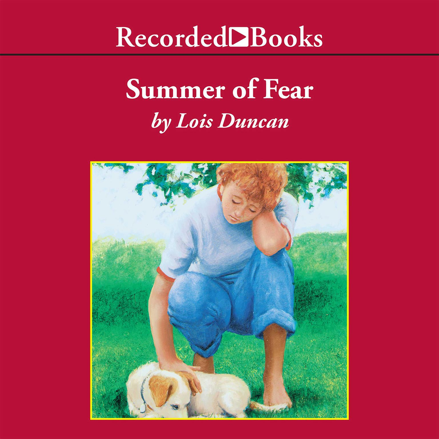 Printable Summer of Fear Audiobook Cover Art
