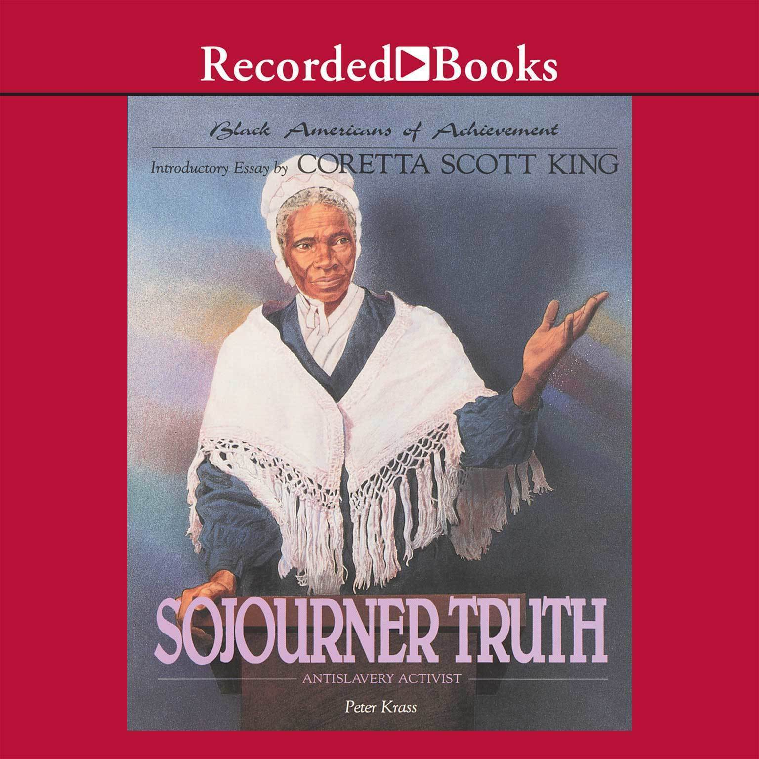 Printable Sojourner Truth Audiobook Cover Art