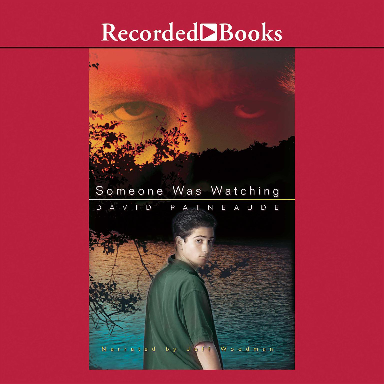Printable Someone Was Watching Audiobook Cover Art