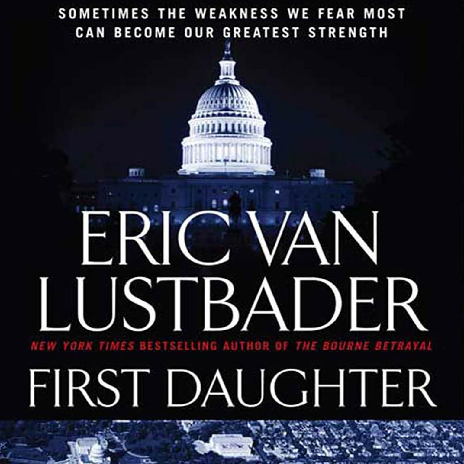 Printable First Daughter: A McClure/Carson Novel Audiobook Cover Art