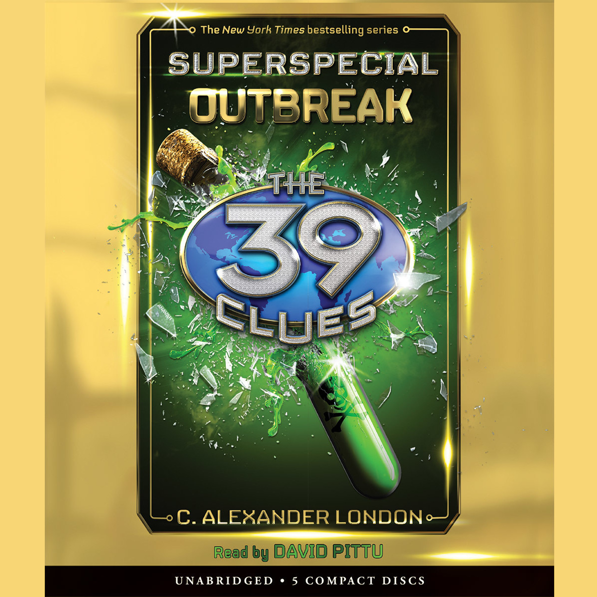 Printable Outbreak The 39 Clues Superspecial Book 1 Audiobook Cover Art