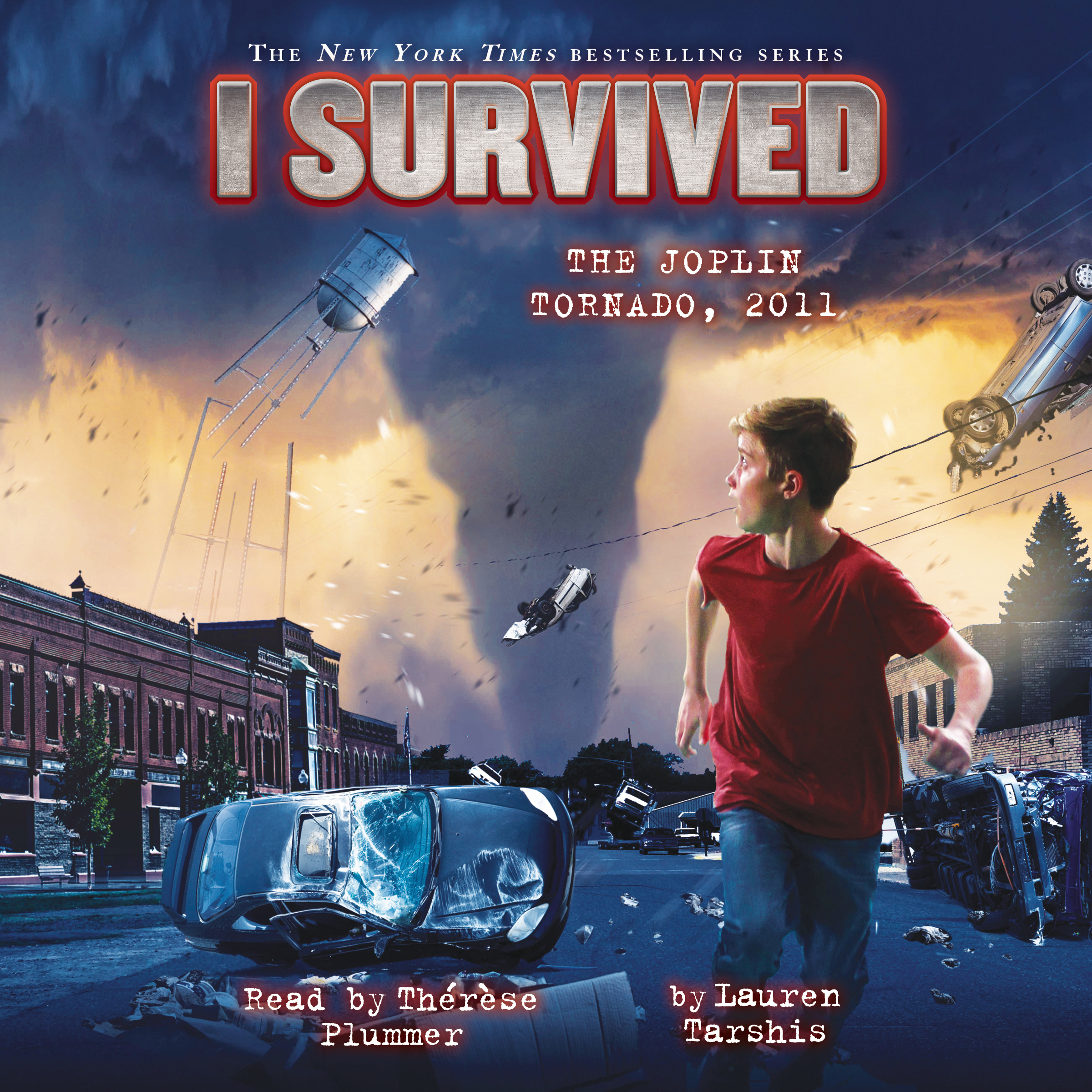 Printable  I Survived the Joplin Tornado, 2011 Audiobook Cover Art