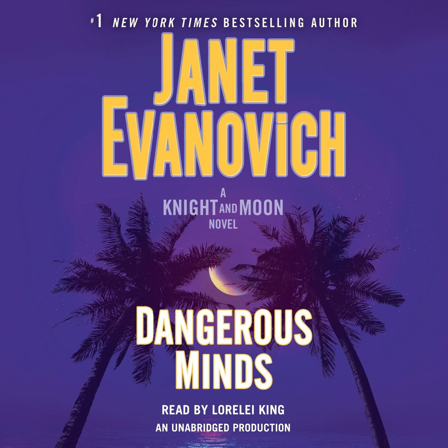 Printable Dangerous Minds: A Knight and Moon Novel Audiobook Cover Art