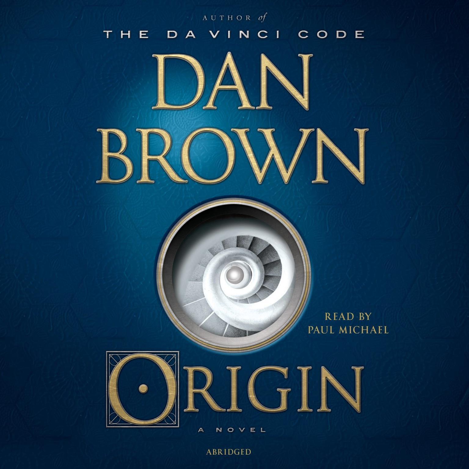 Origin (Abridged): A Novel Audiobook, by Dan Brown