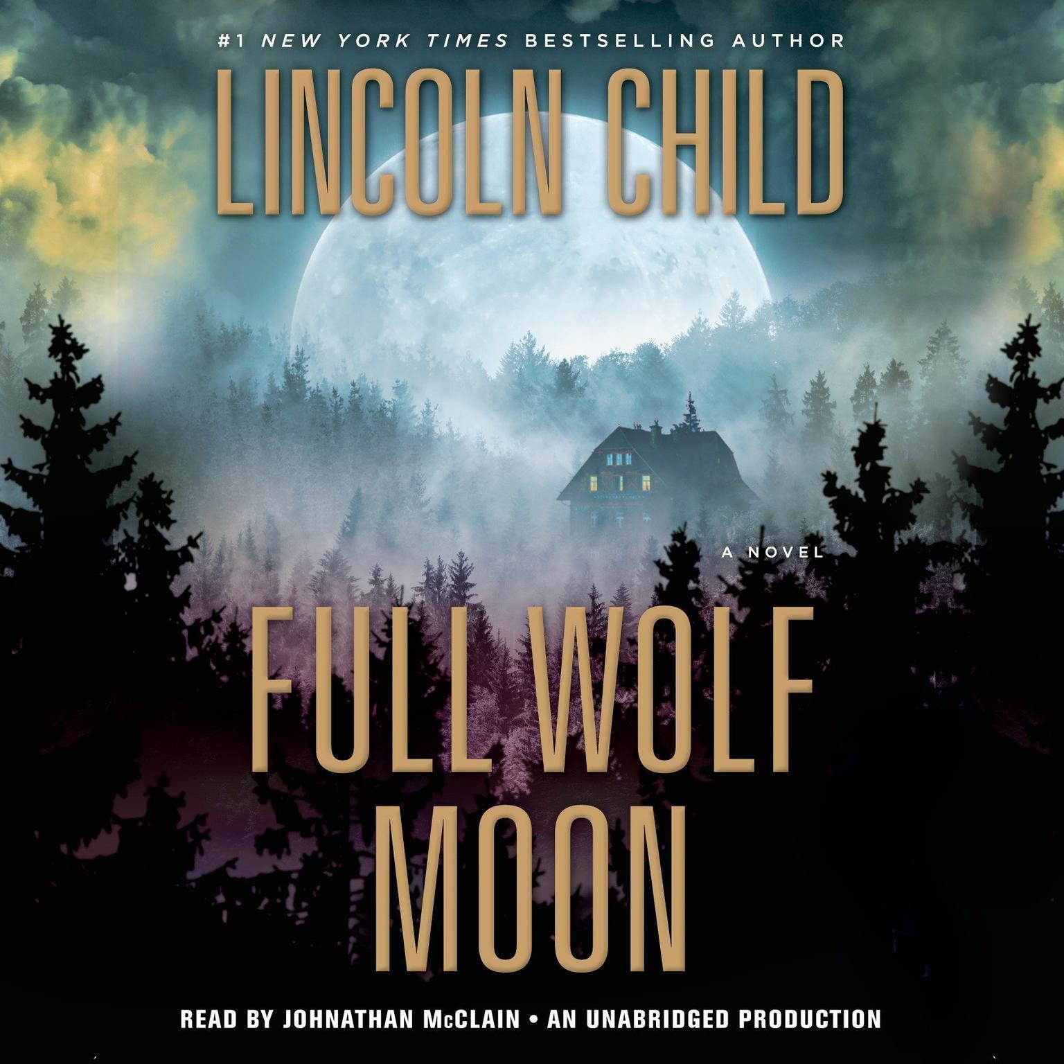 Printable Full Wolf Moon: A Novel Audiobook Cover Art