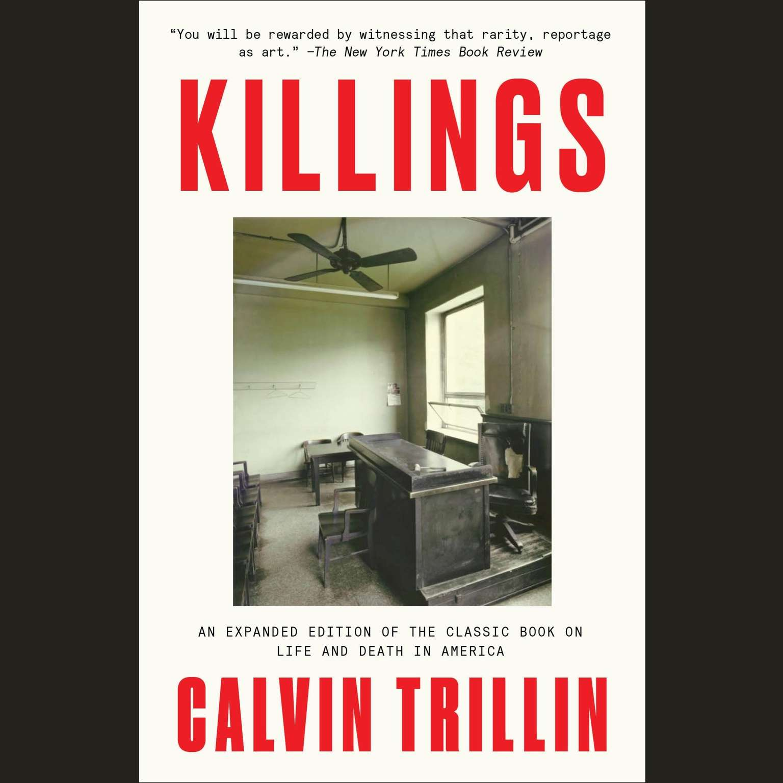 Printable Killings Audiobook Cover Art