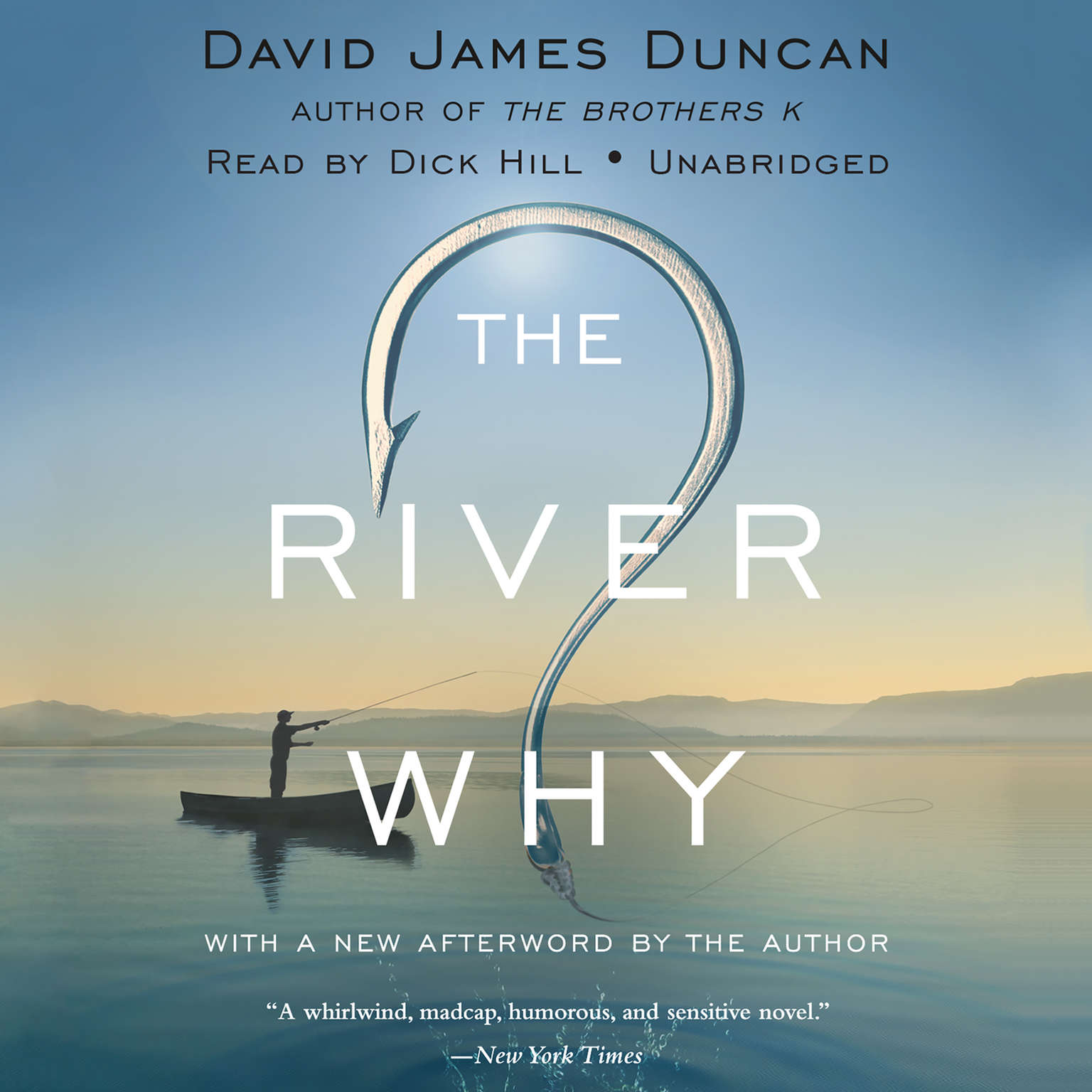 Printable The River Why Audiobook Cover Art