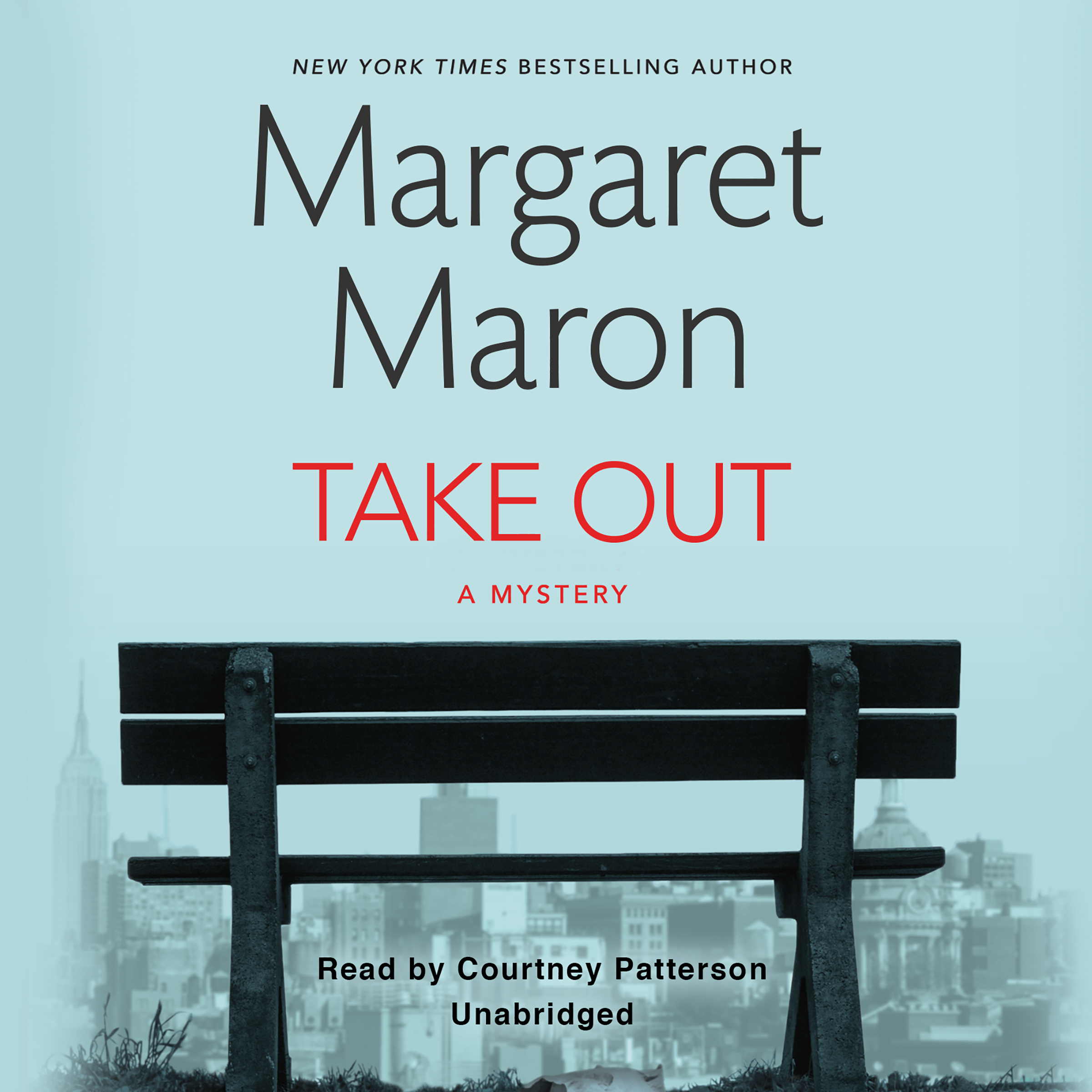 Printable Take Out Audiobook Cover Art