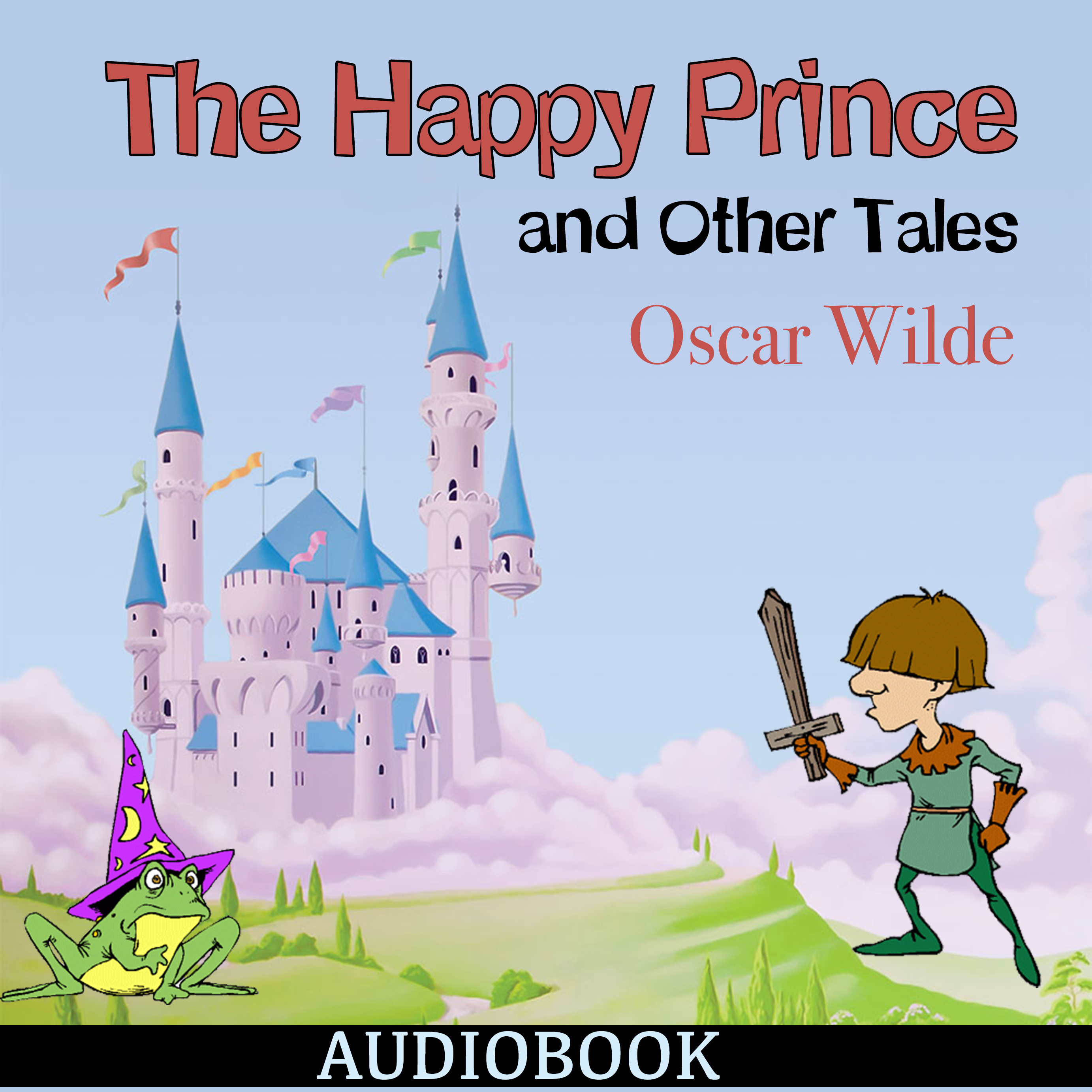 Printable The Happy Prince and Other Tales Audiobook Cover Art
