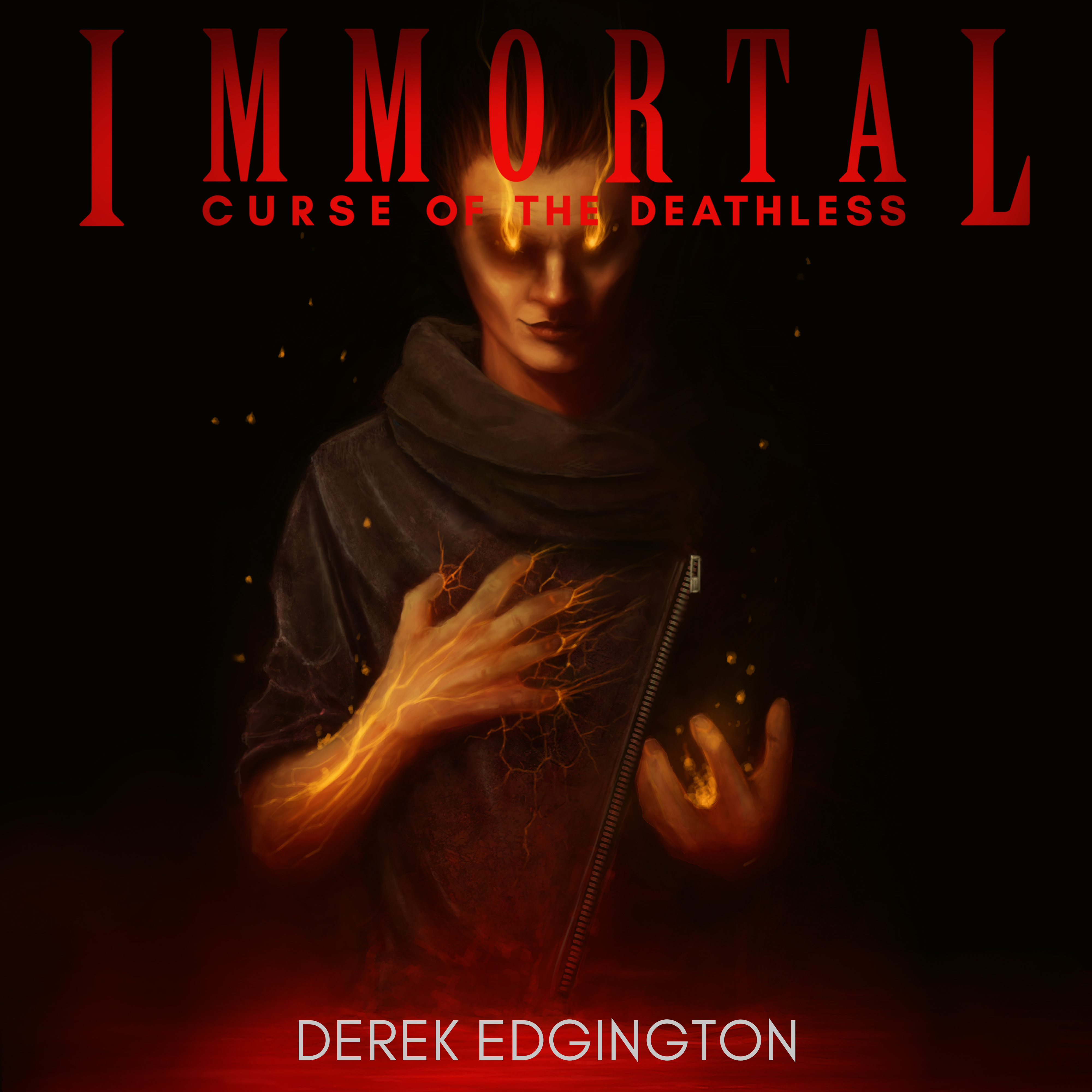Printable Immortal: Curse of the Deathless Audiobook Cover Art