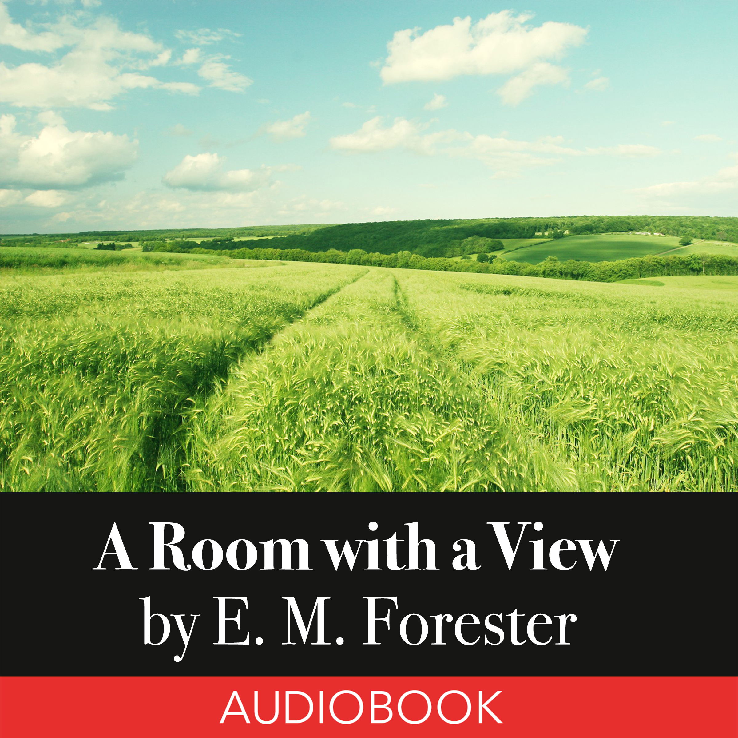 Printable A Room with a View Audiobook Cover Art