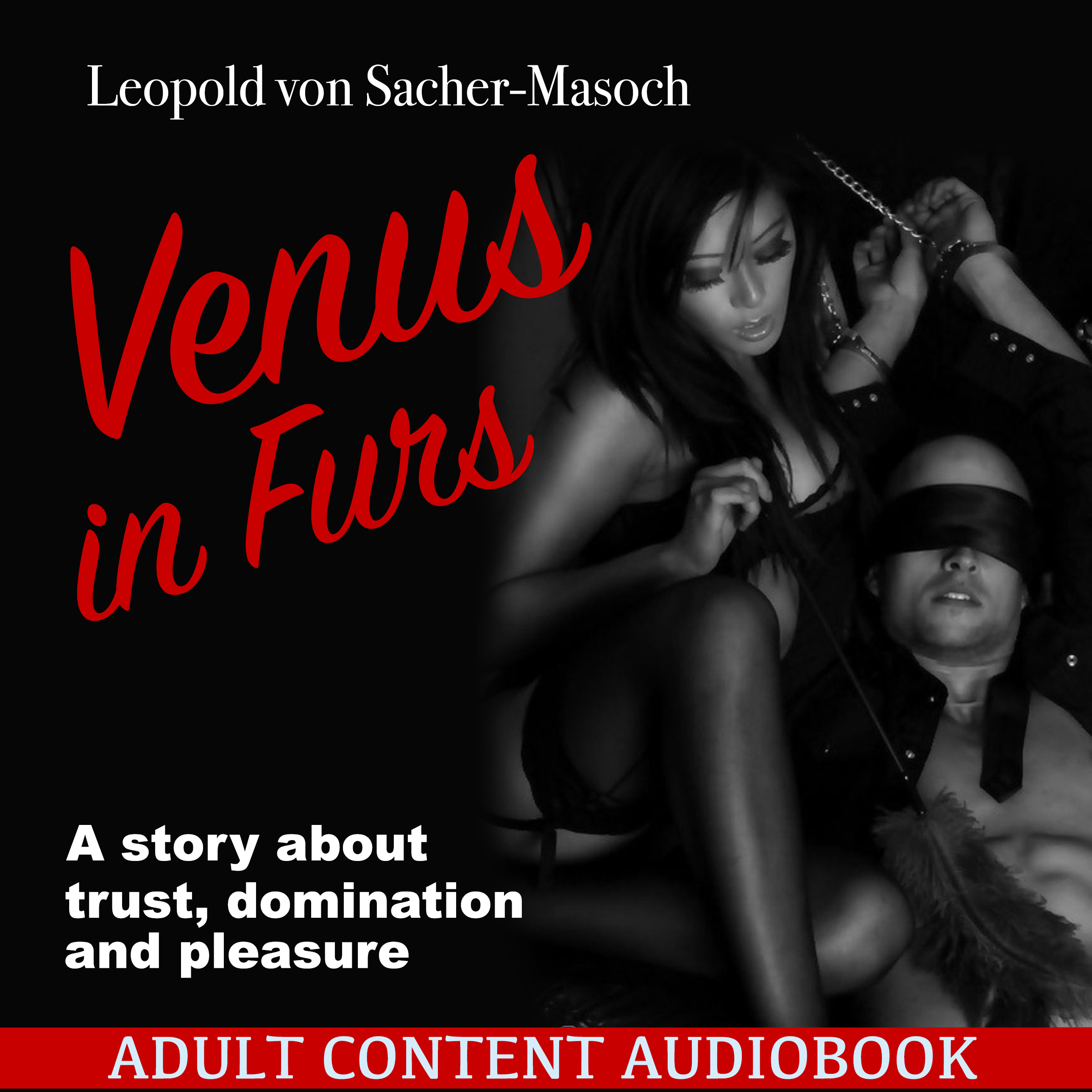 Printable Venus in Furs Audiobook Cover Art