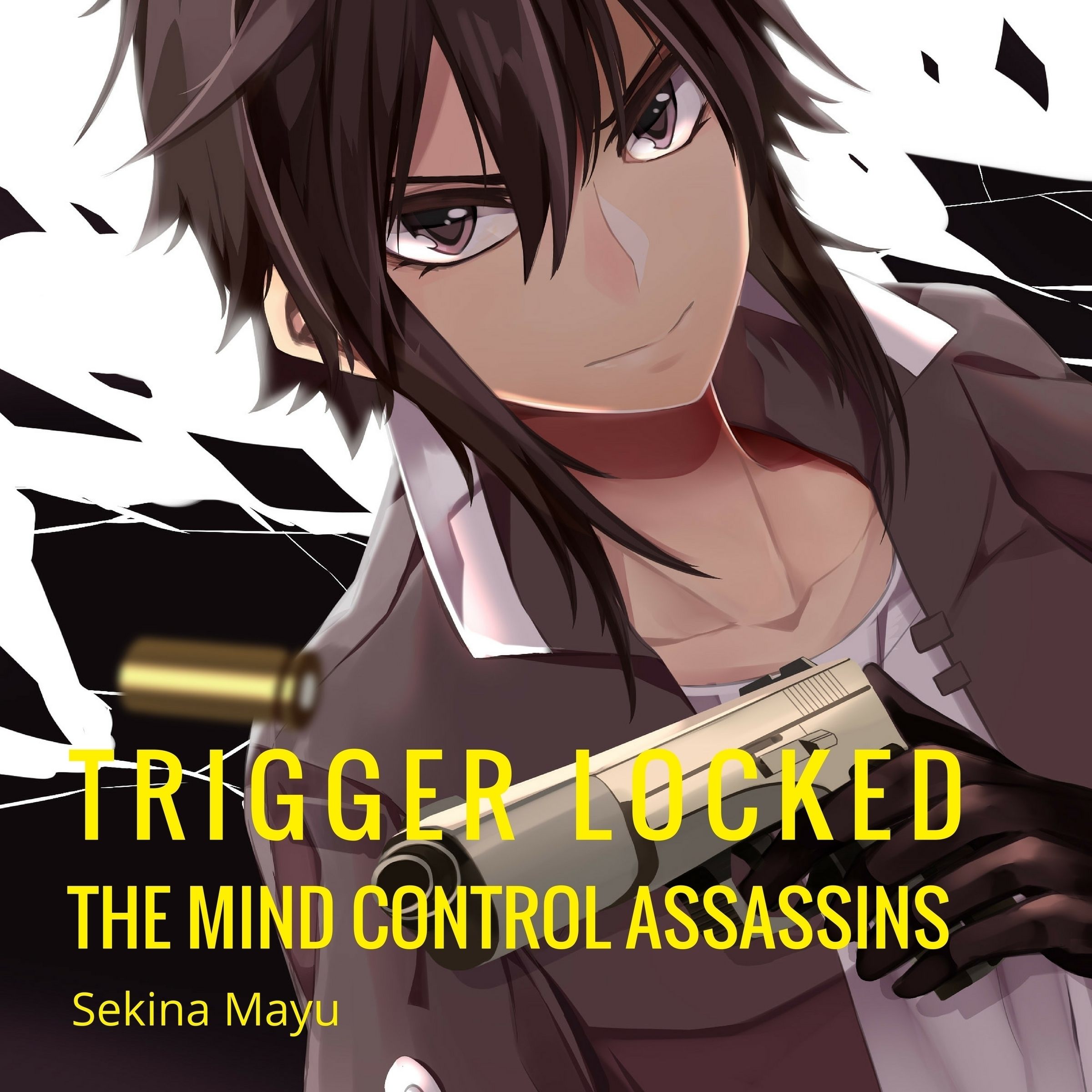 Printable The Mind Control Assassins Audiobook Cover Art