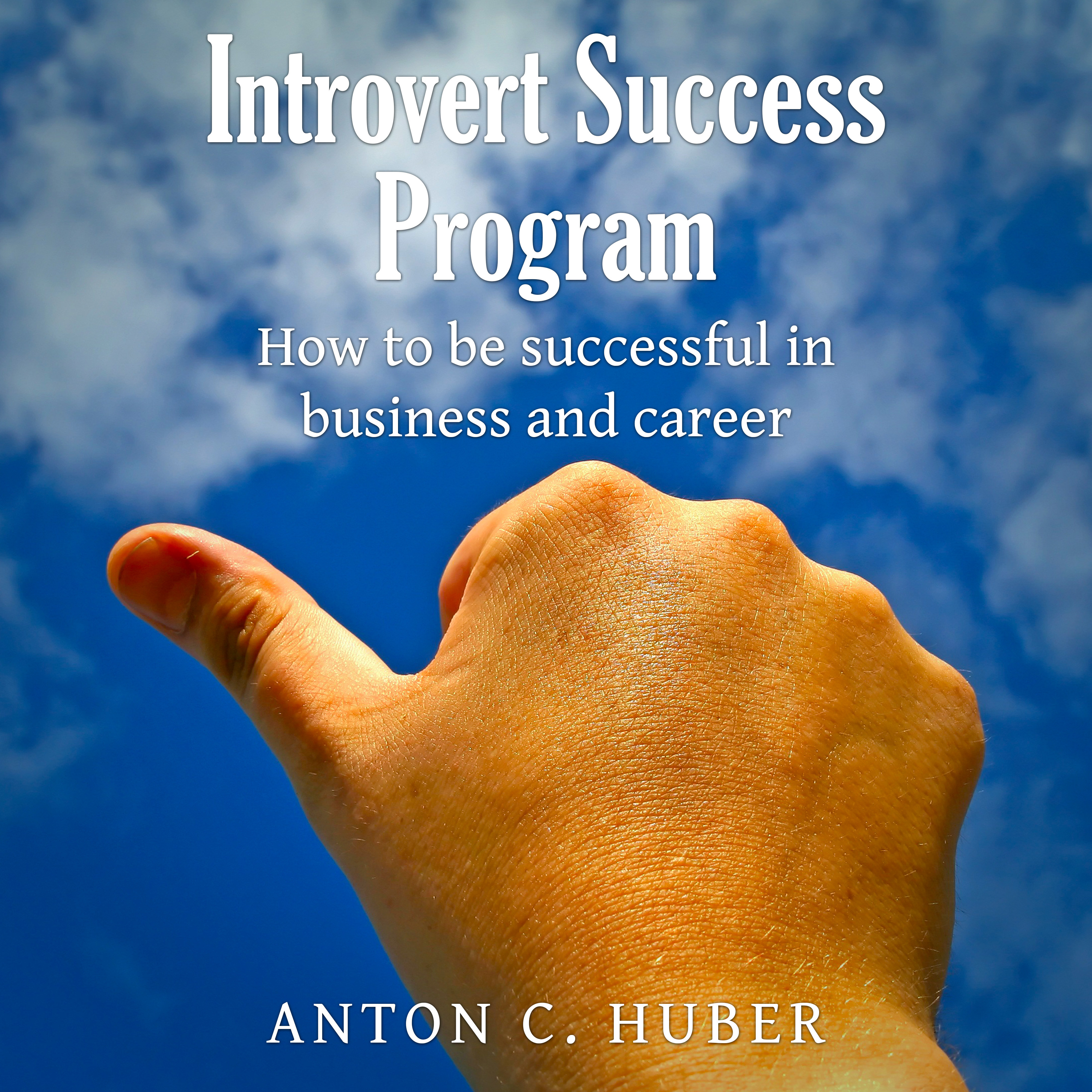 Printable Introvert Success Program Audiobook Cover Art