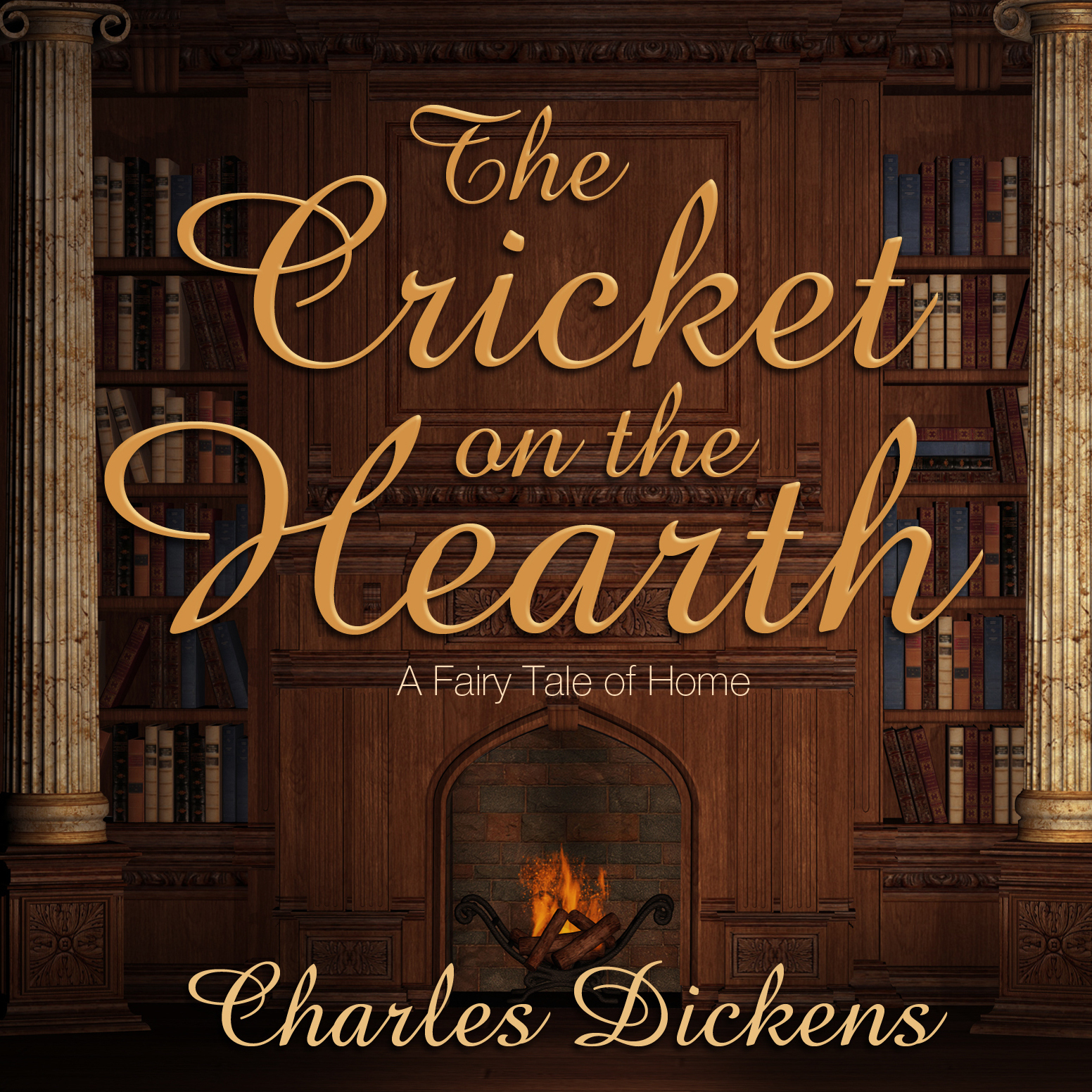 Printable The Cricket on the Hearth: A Fairy Tale of Home Audiobook Cover Art