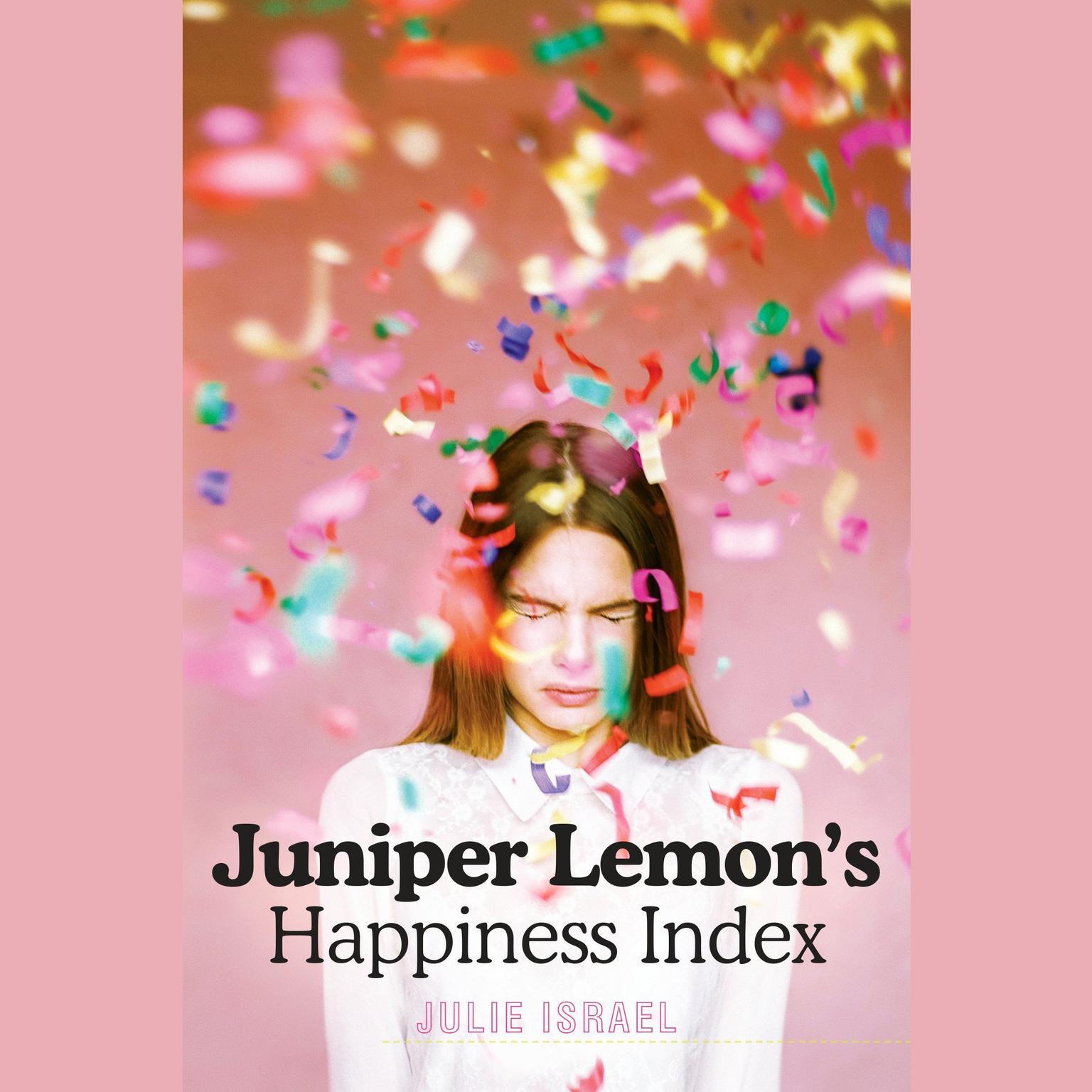 Printable Juniper Lemon's Happiness Index Audiobook Cover Art