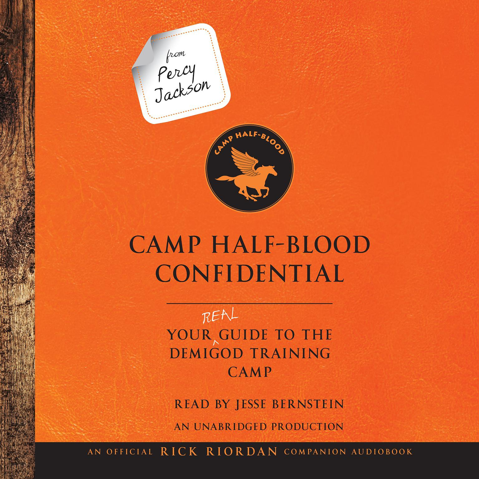 Printable From Percy Jackson: Camp Half-Blood Confidential: Your Real Guide to the Demigod Training Camp Audiobook Cover Art
