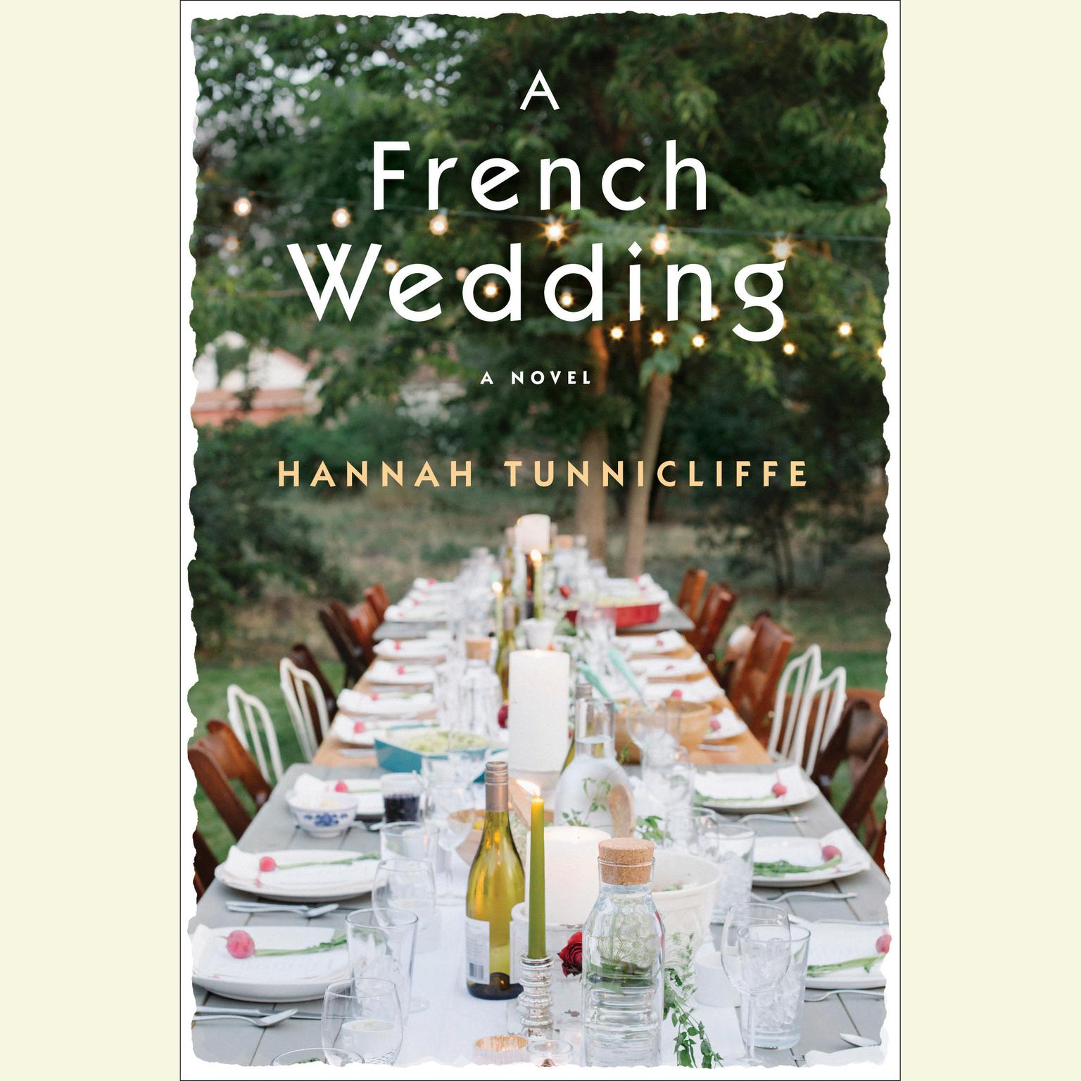 Printable A French Wedding: A Novel Audiobook Cover Art