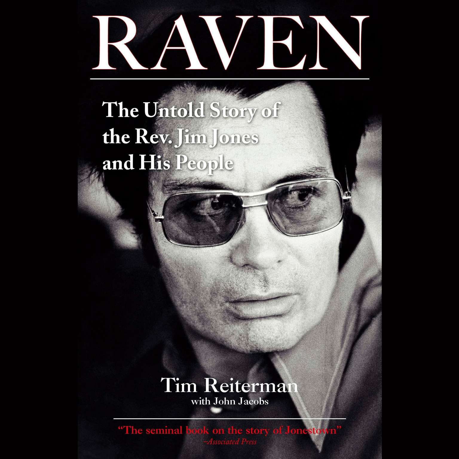 Printable Raven: The Untold Story of the Rev. Jim Jones and His People Audiobook Cover Art