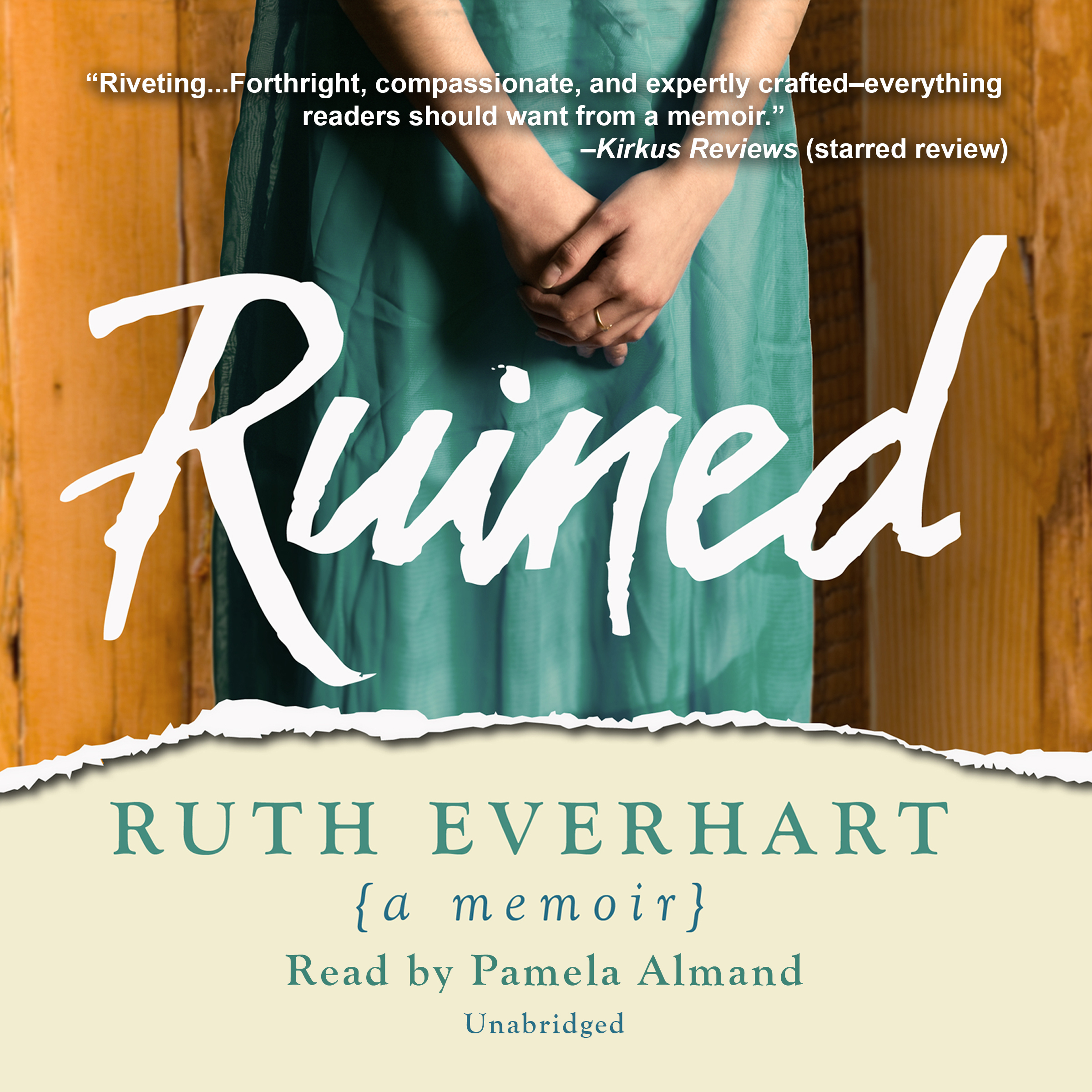 Printable Ruined: A Memoir Audiobook Cover Art