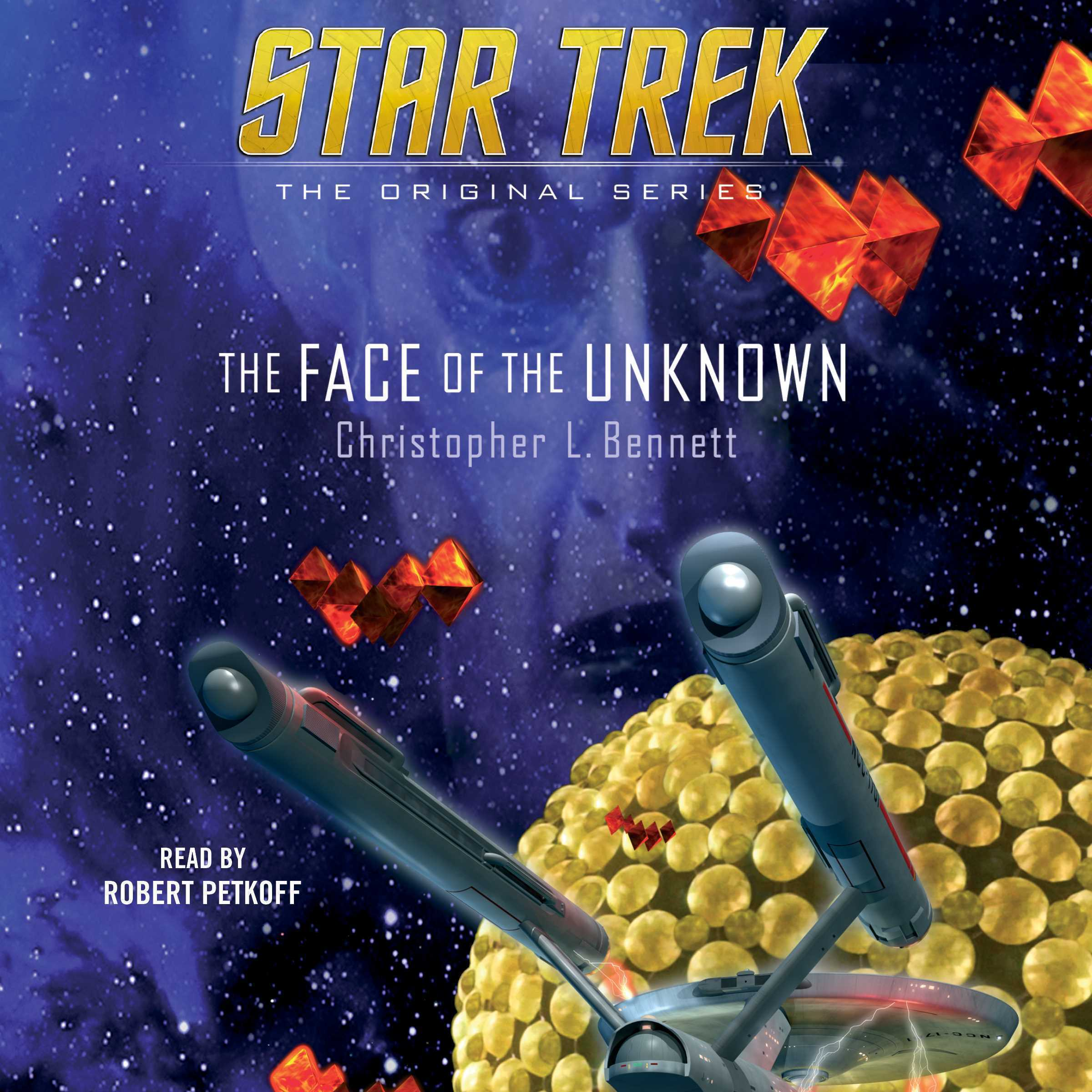 Printable The Face of the Unknown Audiobook Cover Art