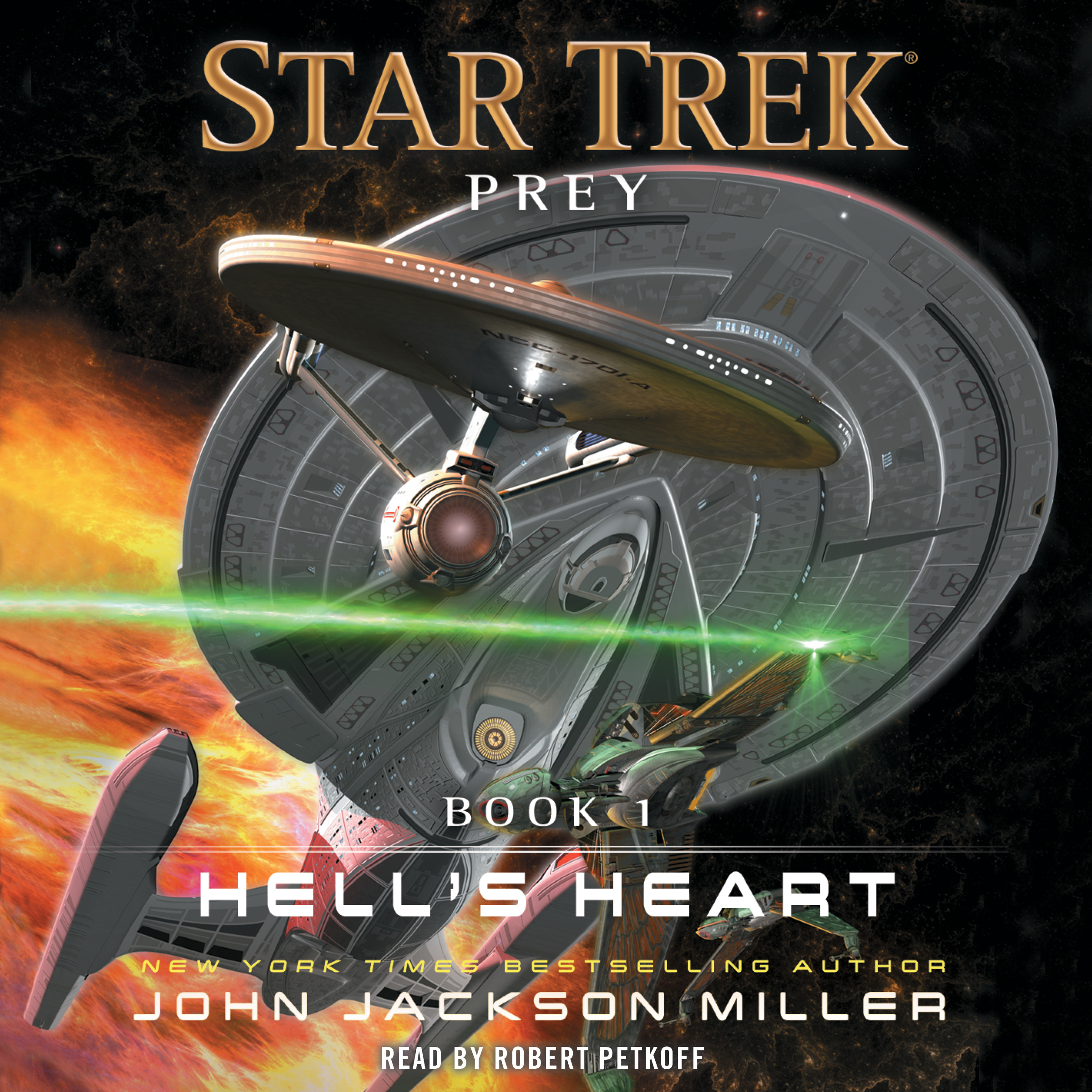 Printable Prey: Book  One: Hell's Heart Audiobook Cover Art