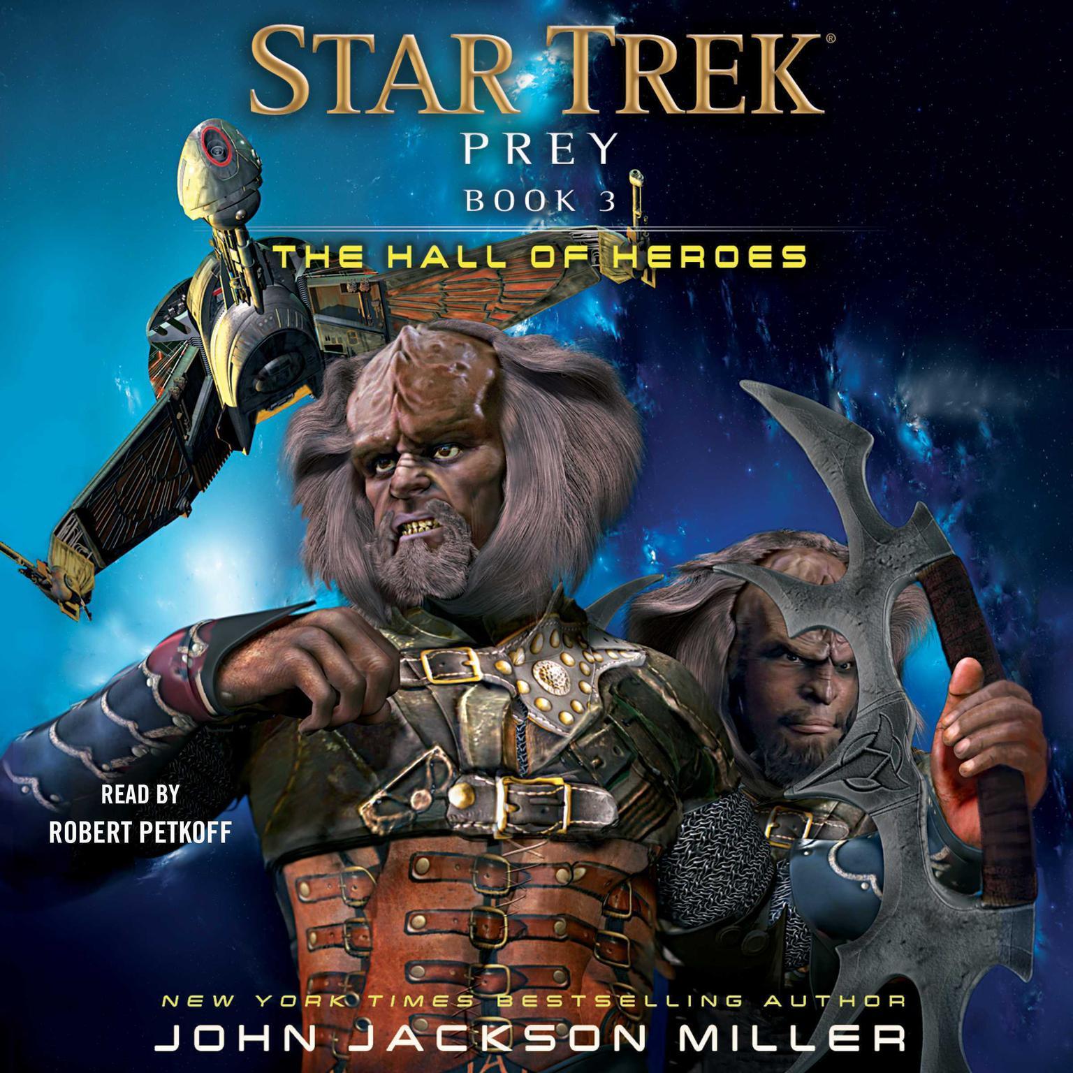 Prey: Book Three: The Hall of Heroes Audiobook, by John Jackson Miller