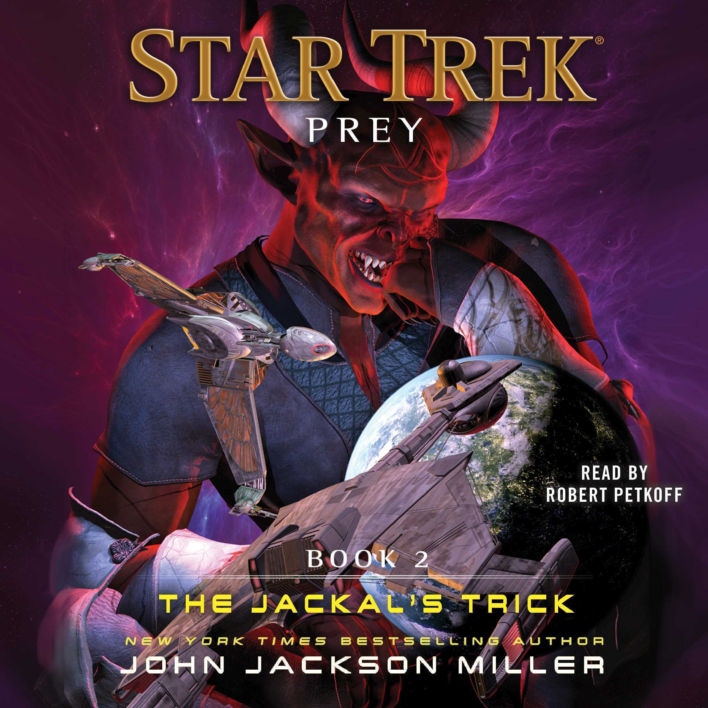 Printable Prey: Book Two: The Jackal's Trick Audiobook Cover Art