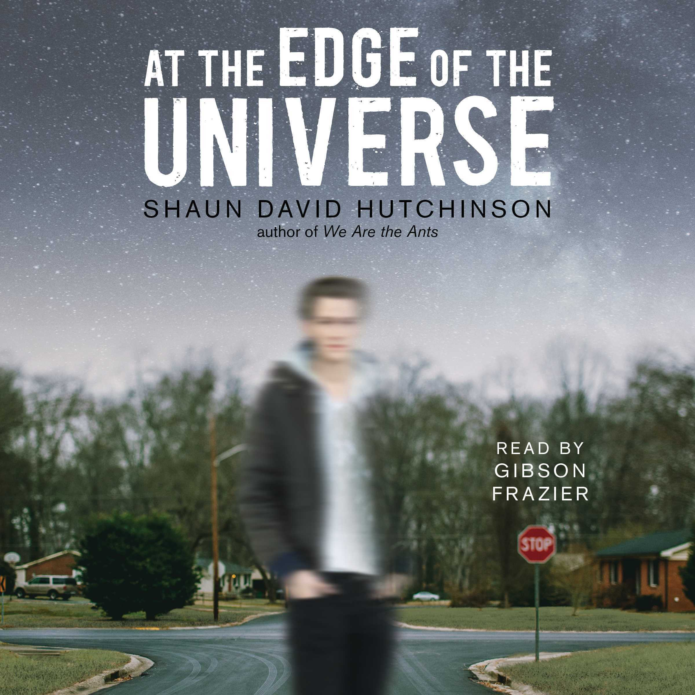 Printable At the Edge of the Universe Audiobook Cover Art
