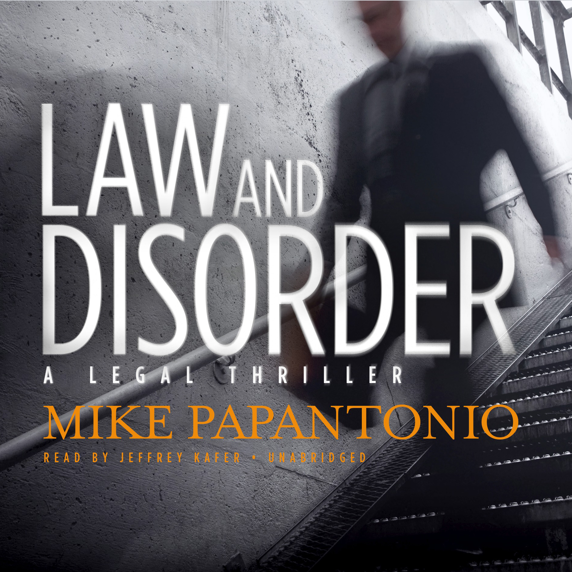 Printable Law and Disorder: A Legal Thriller Audiobook Cover Art