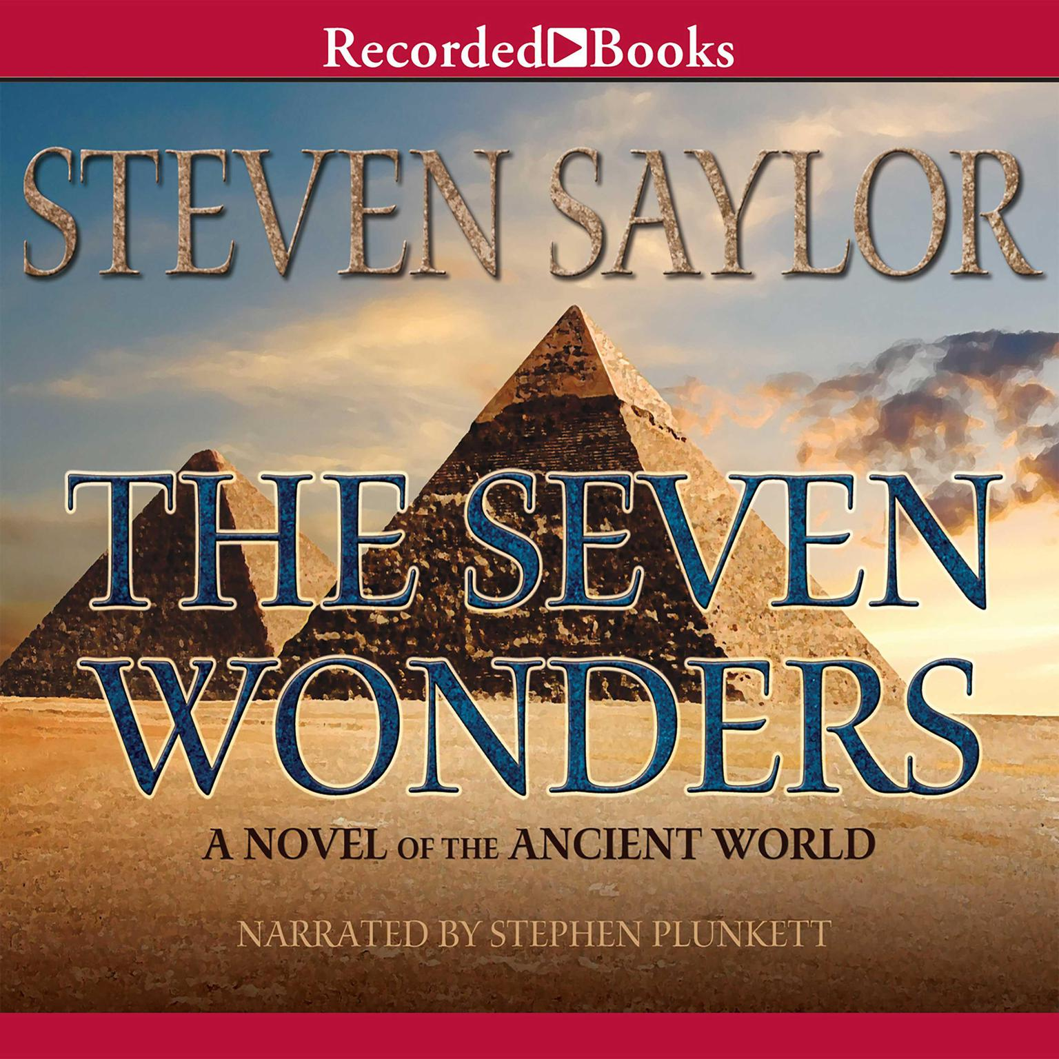 Printable The Seven Wonders: A Novel of the Ancient World Audiobook Cover Art
