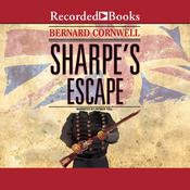 Sharpes Escape Audiobook, by Bernard Cornwell