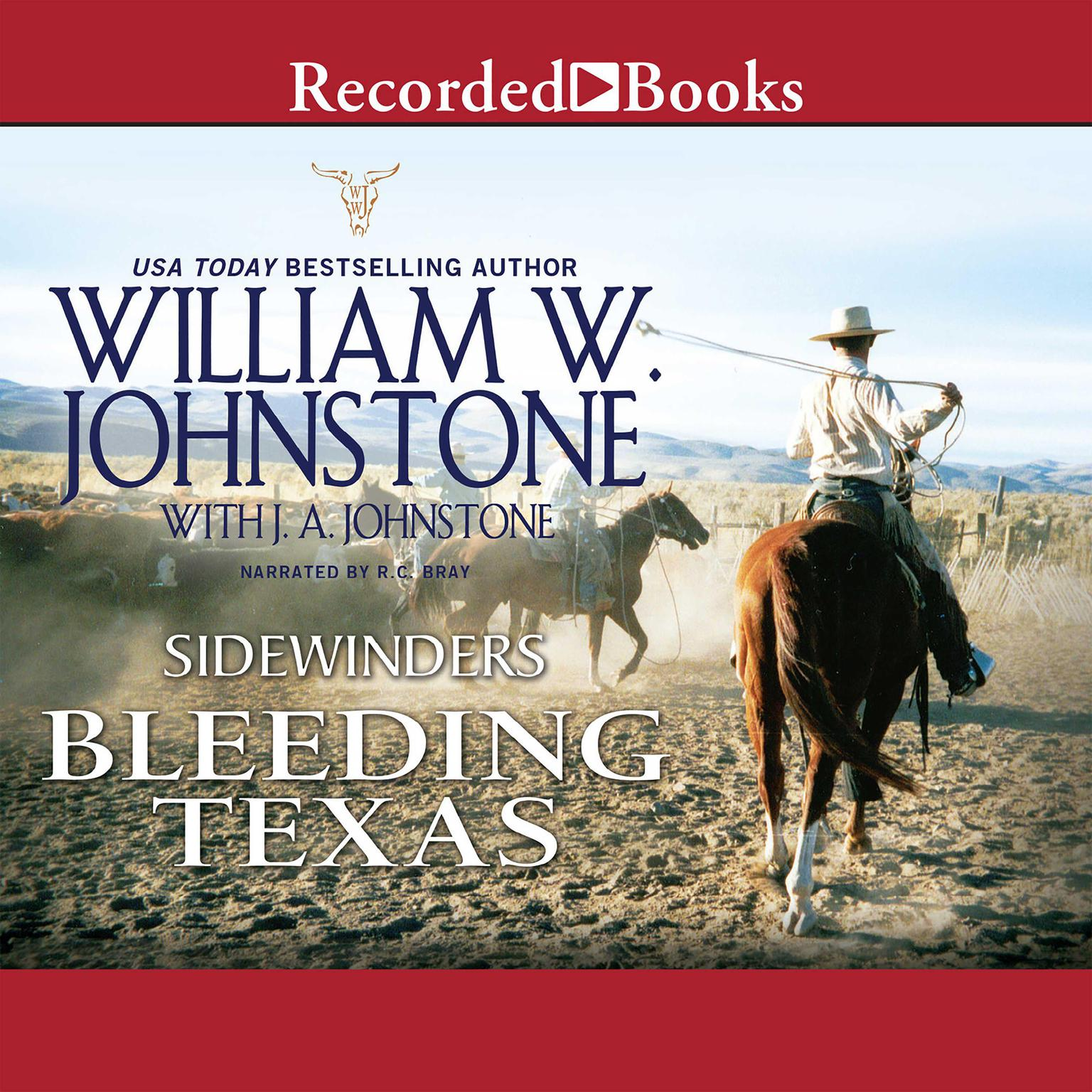 Printable Bleeding Texas Audiobook Cover Art