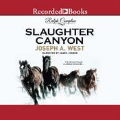Ralph Compton Slaughter Canyon Audiobook, by Ralph Compton