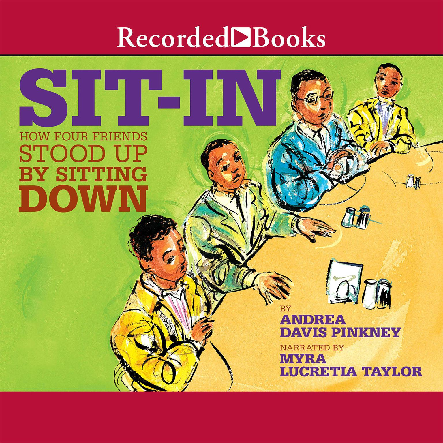Printable Sit-In: How Four Friends Stood up by Sitting Down Audiobook Cover Art