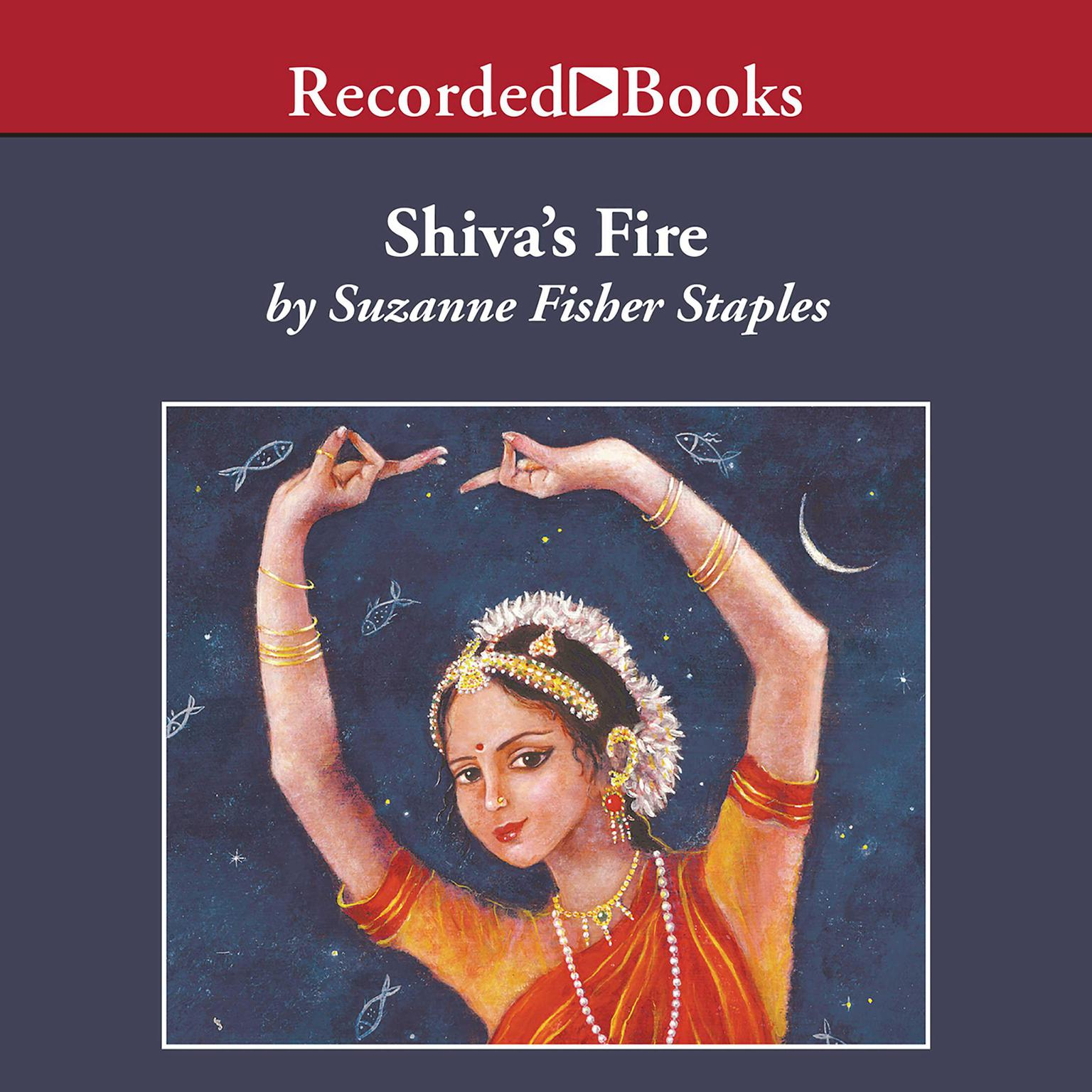 Printable Shiva's Fire Audiobook Cover Art