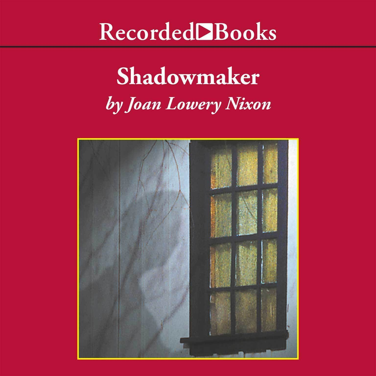 Printable Shadowmaker Audiobook Cover Art