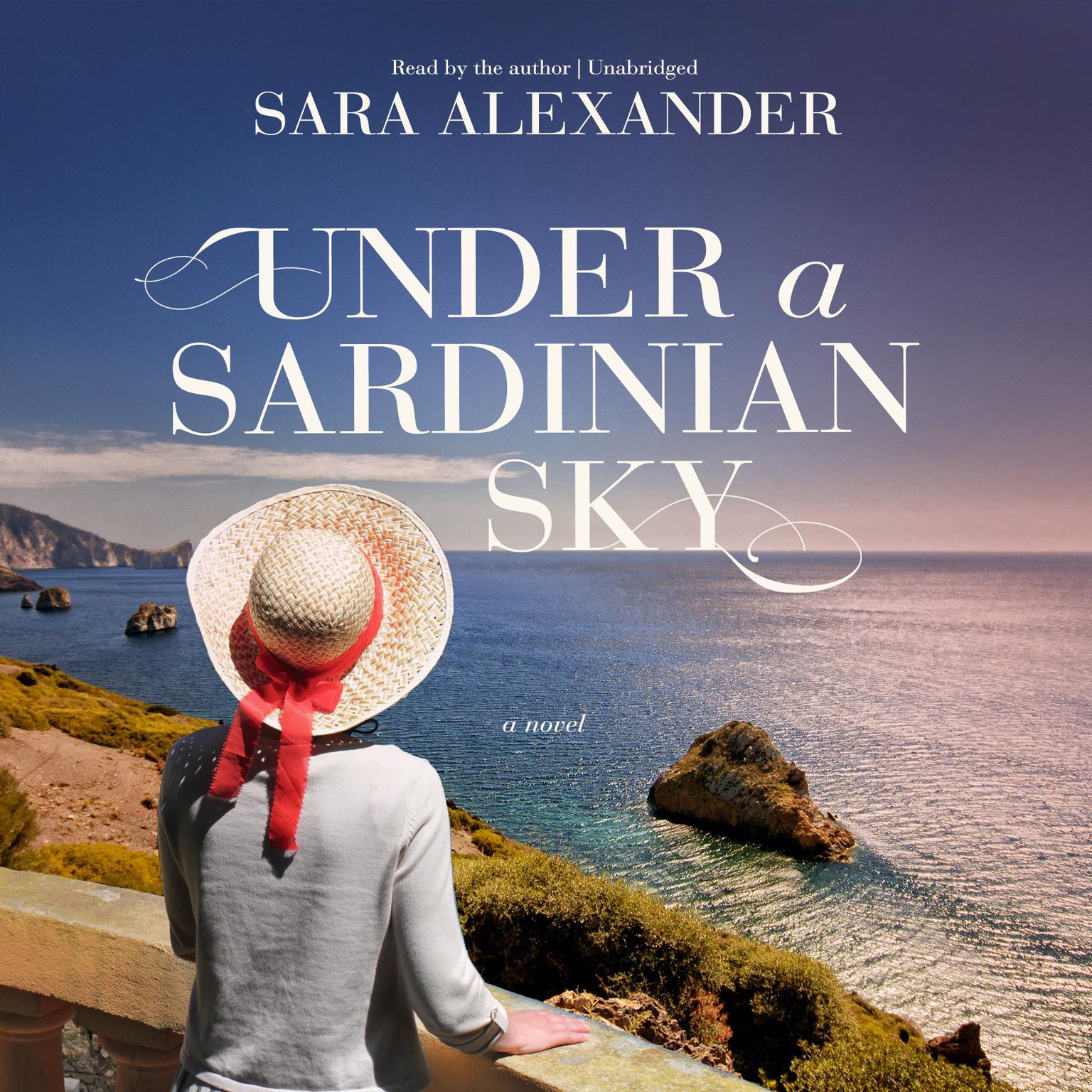 Printable Under a Sardinian Sky: A Novel Audiobook Cover Art