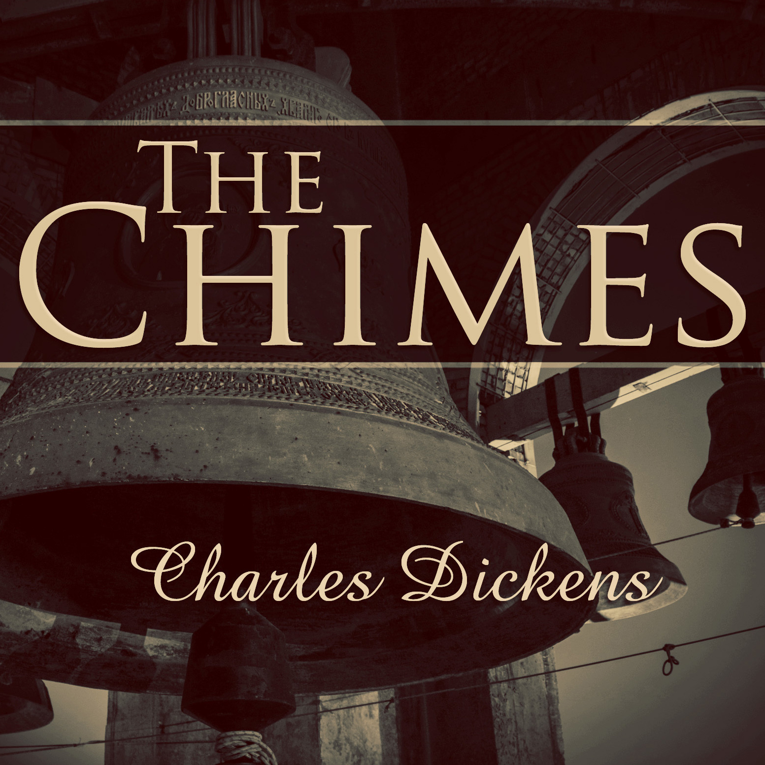 Printable The Chimes: A Goblin Story of Some Bells That Rang an Old Year Out and a New Year In Audiobook Cover Art