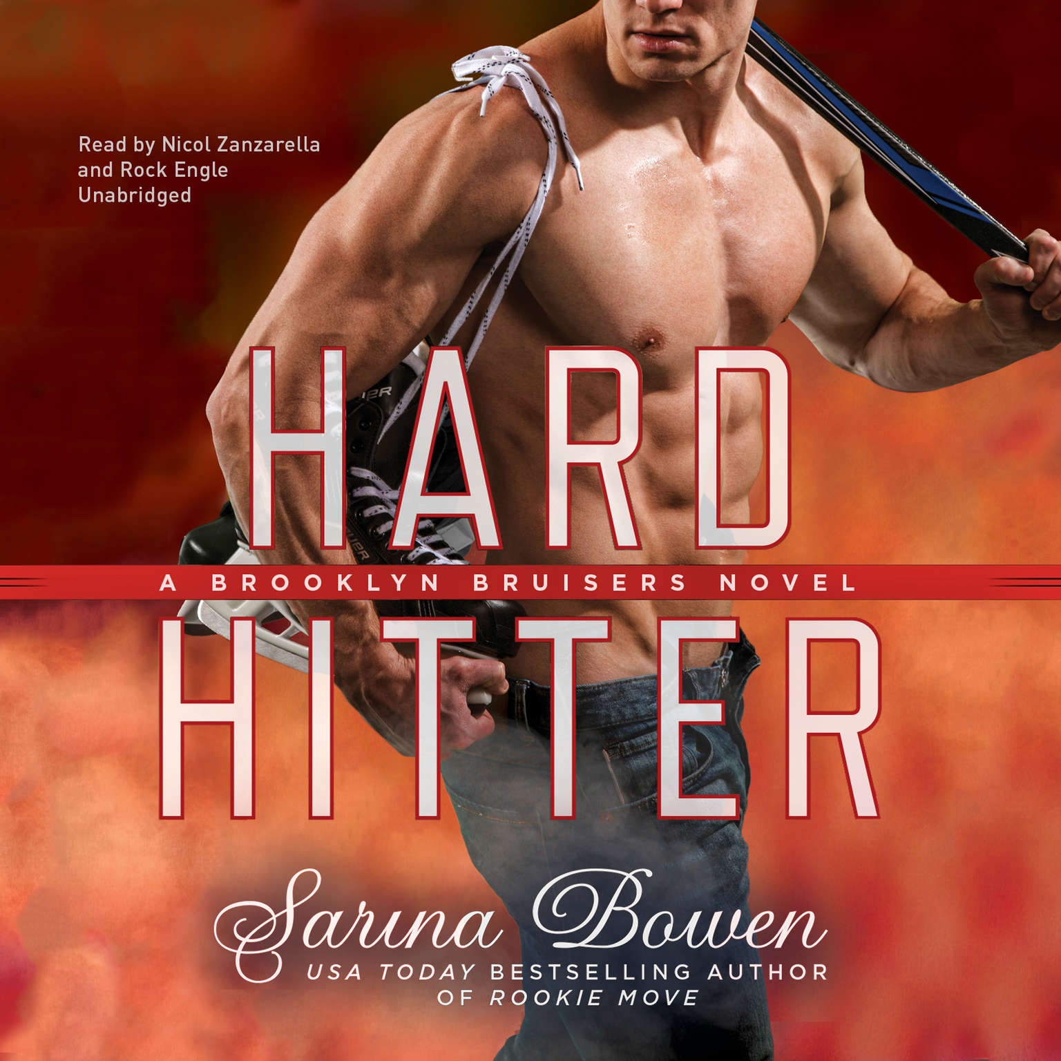 Printable Hard Hitter Audiobook Cover Art