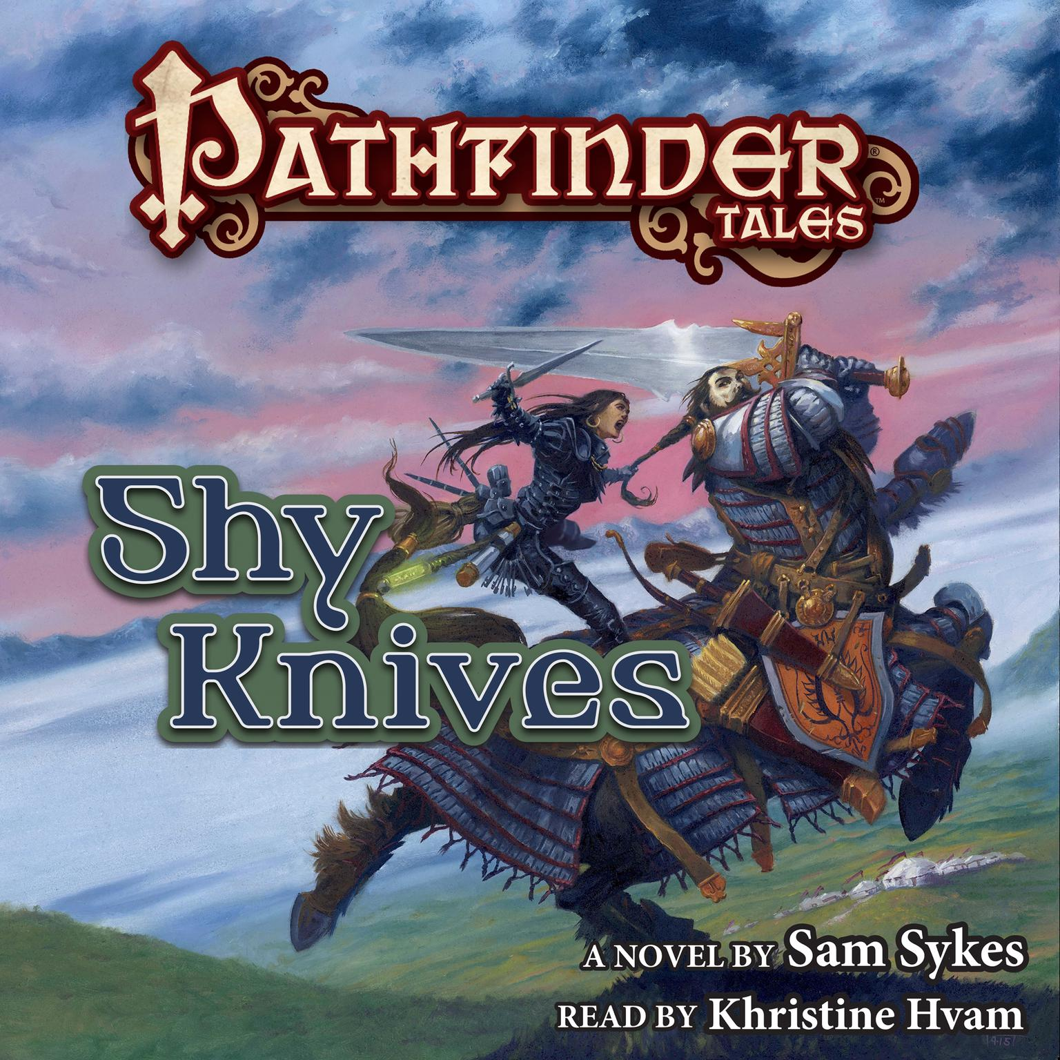 Printable Pathfinder Tales: Shy Knives Audiobook Cover Art