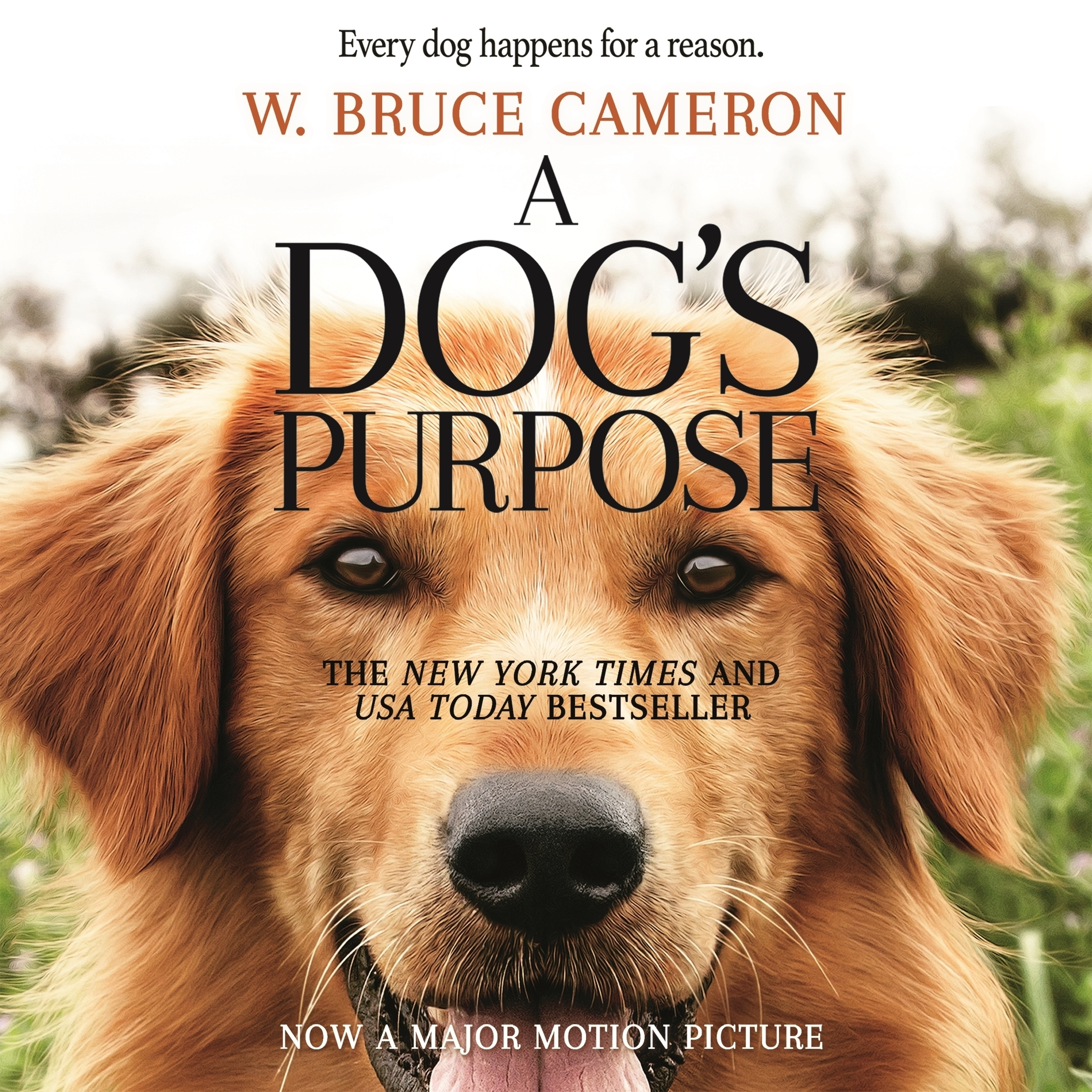 Printable A Dog's Purpose: A Novel for Humans Audiobook Cover Art