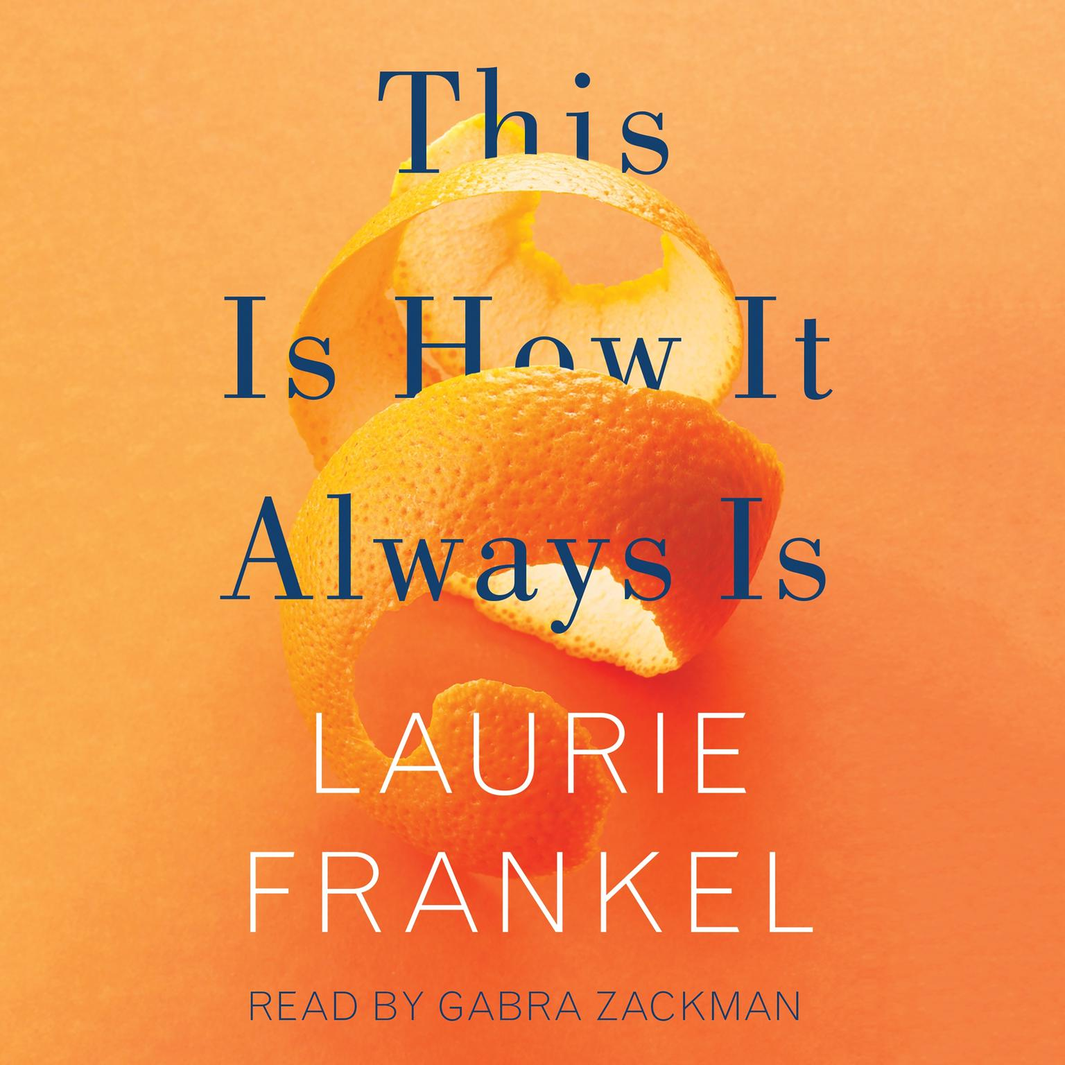 Printable This Is How It Always Is: A Novel Audiobook Cover Art