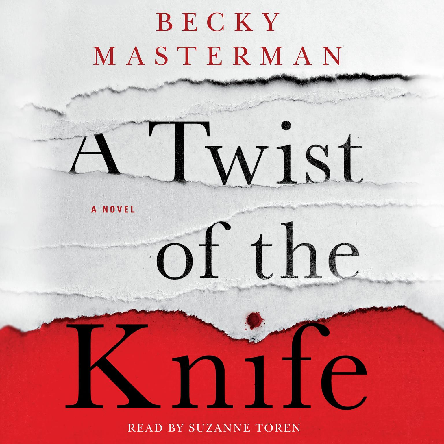 Printable A Twist of the Knife: A Novel Audiobook Cover Art