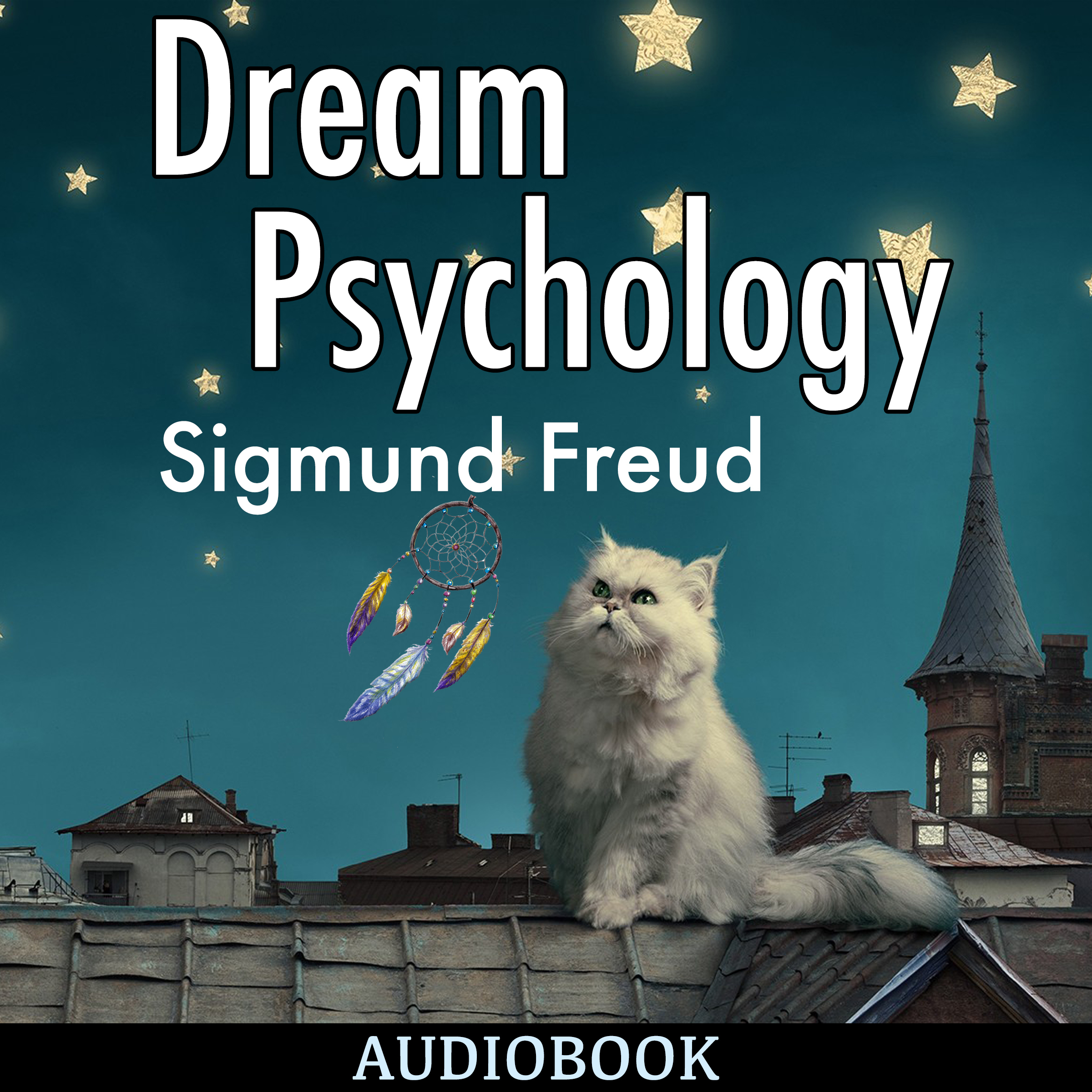 Printable Dream Psychology Audiobook Cover Art