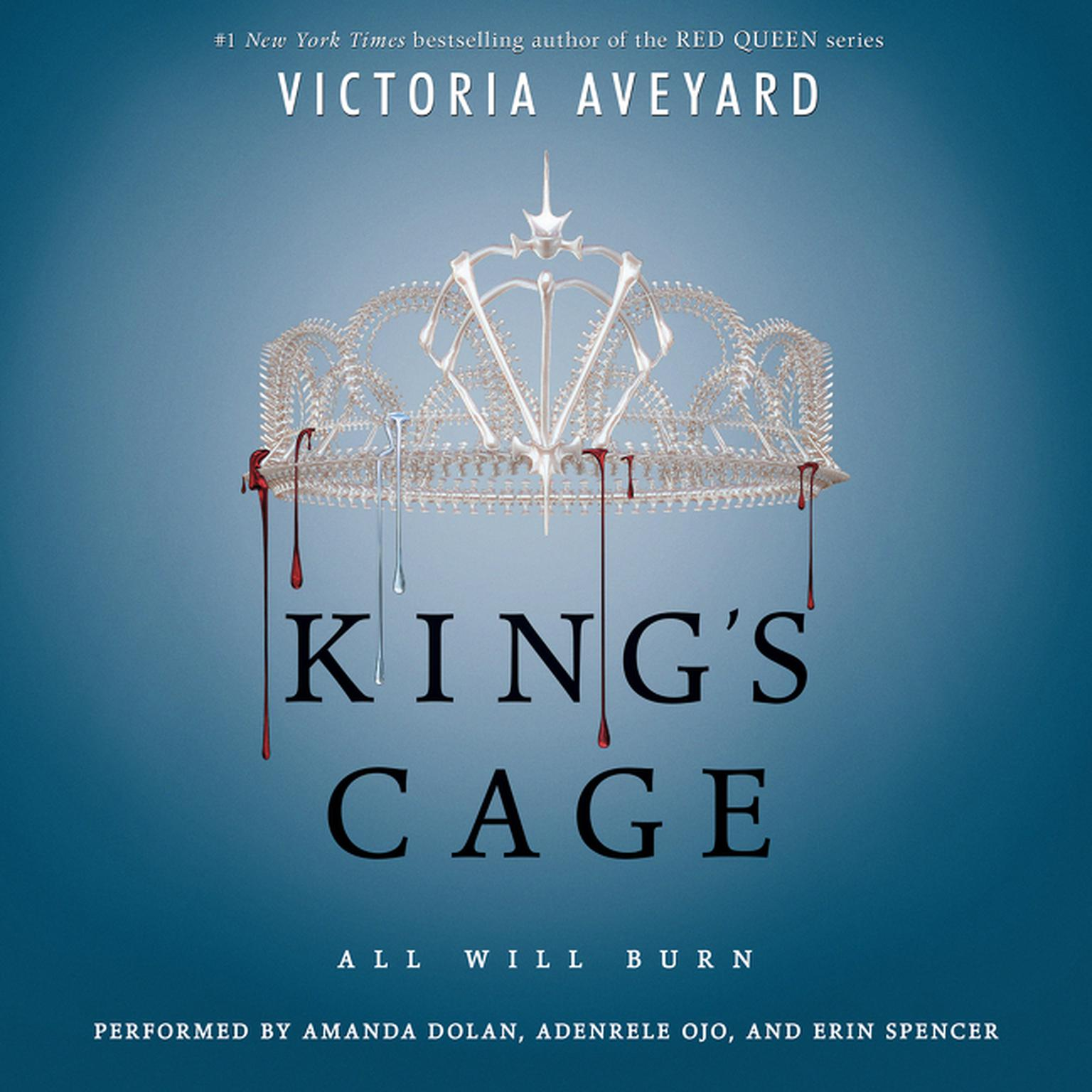 Printable King's Cage Audiobook Cover Art