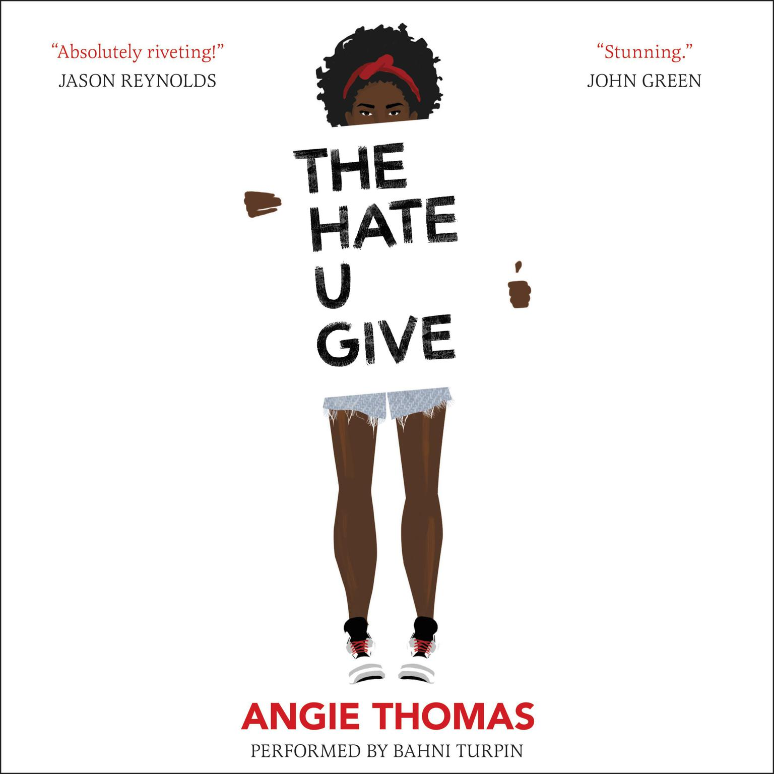 Printable The Hate U Give Audiobook Cover Art