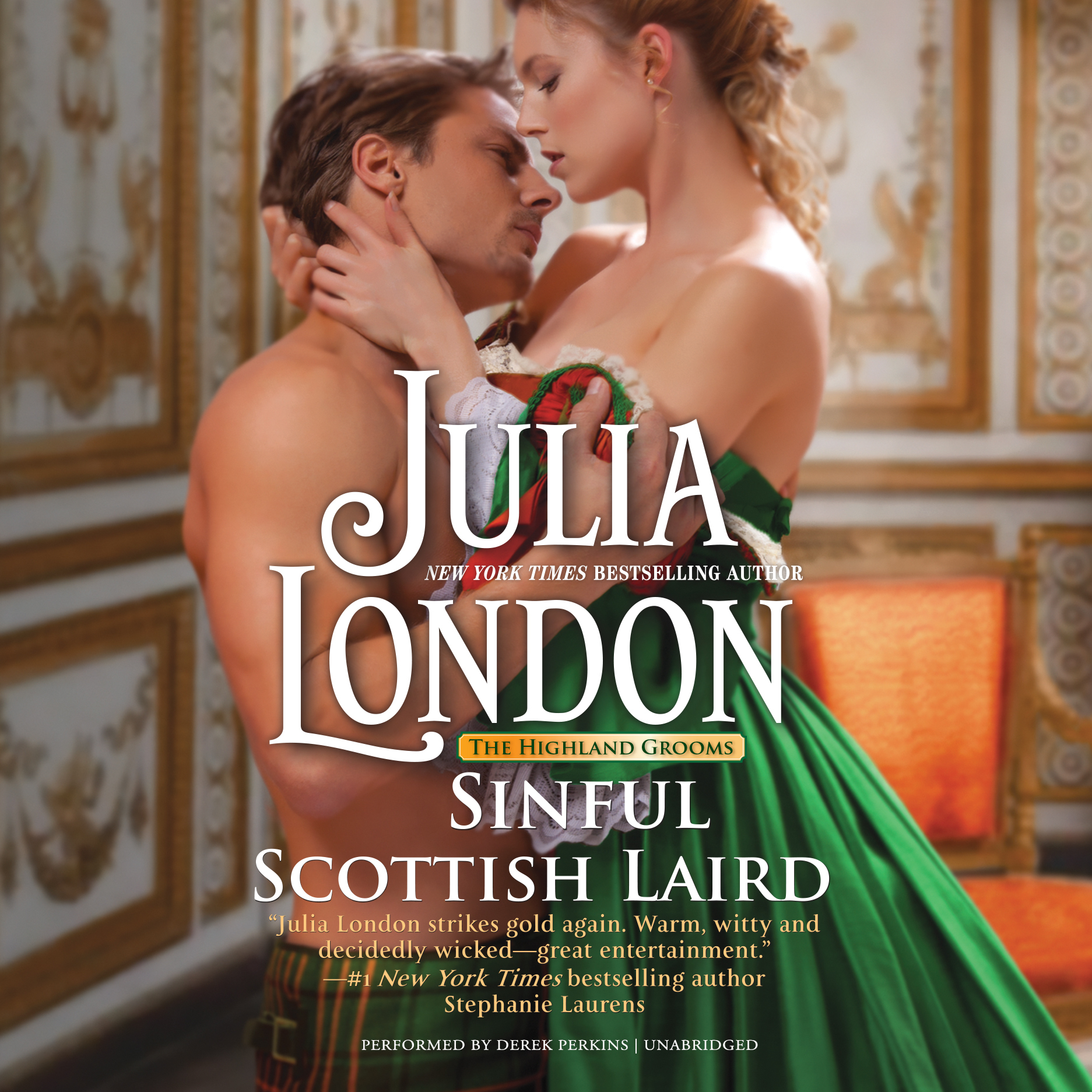 Printable Sinful Scottish Laird Audiobook Cover Art