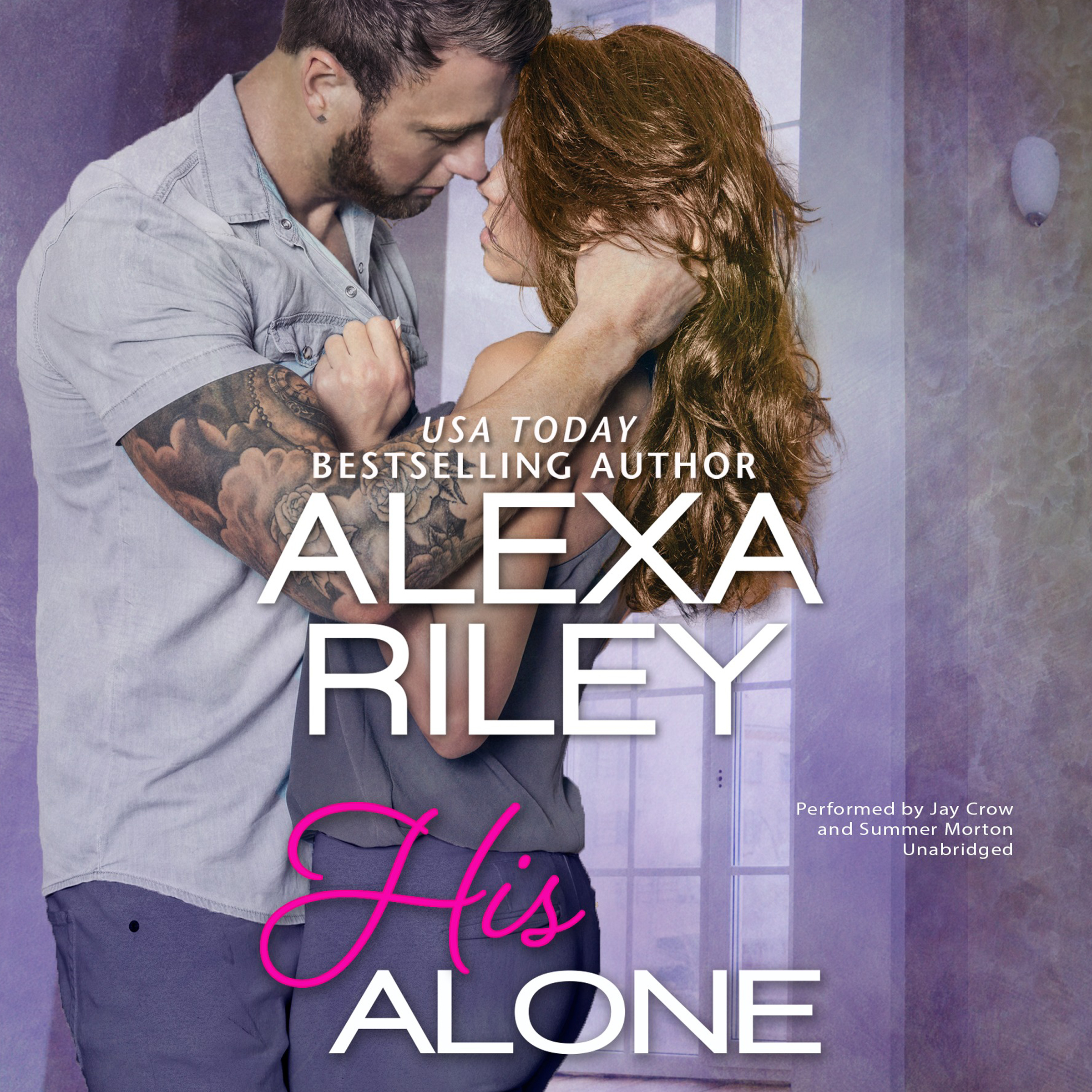 Printable His Alone Audiobook Cover Art